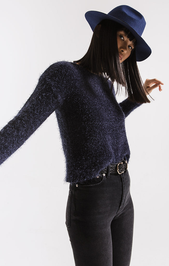 Sweaters Metropolitan Knit Sweater By Rag Poets Night Sky