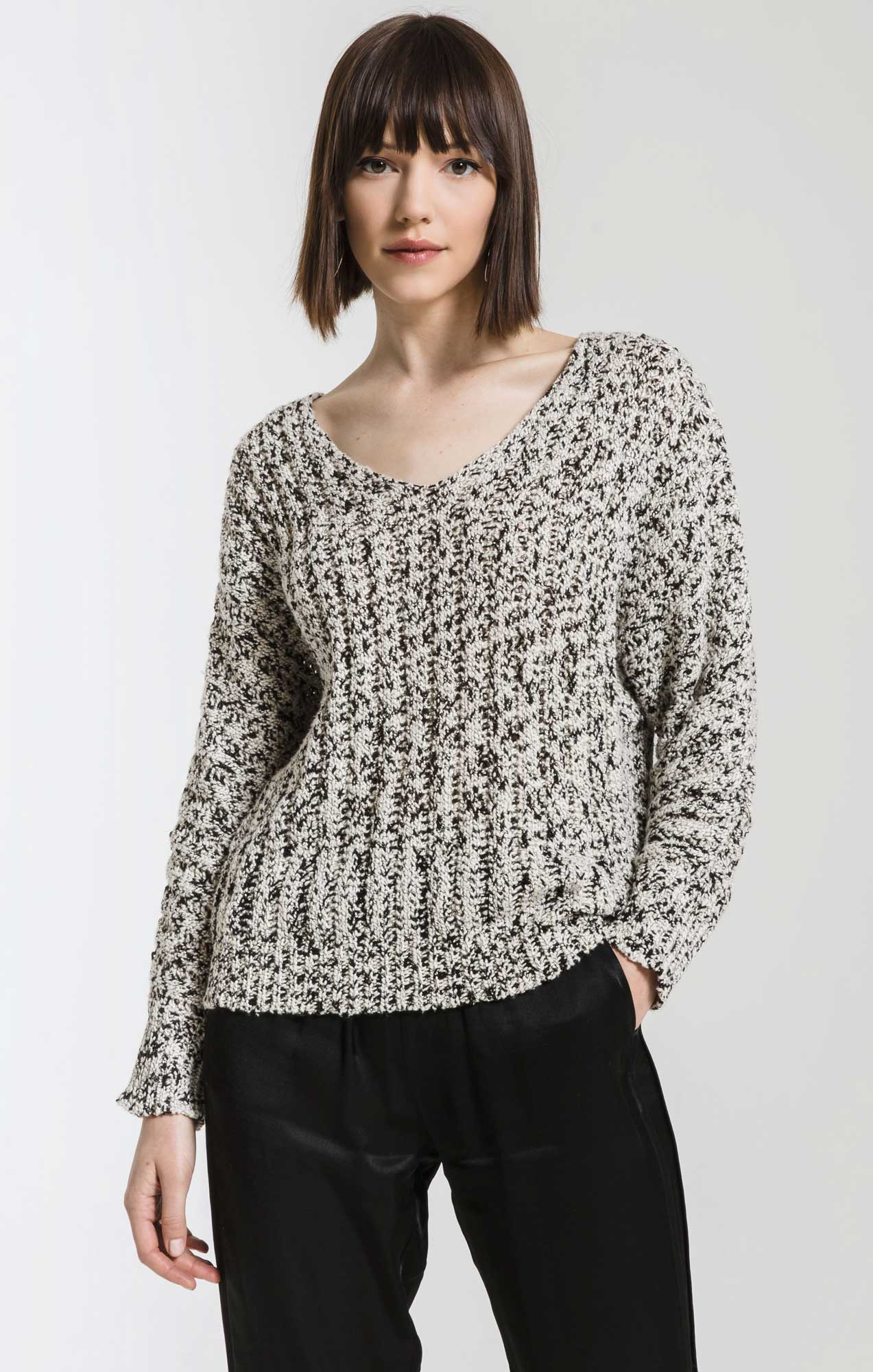 Sweaters Valby Chunky Knit Sweater By Rag Poets Gardenia