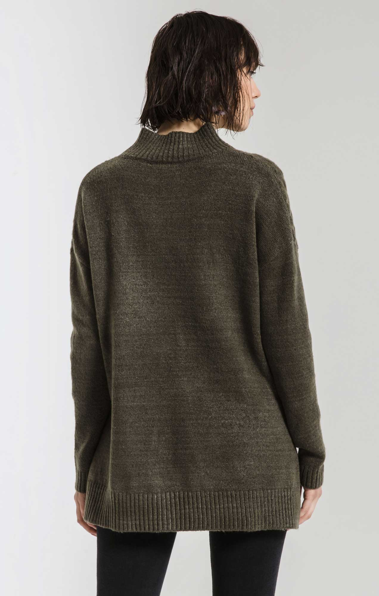 Sweaters Mathilde Mock Neck Sweater By Rag Poets Canteen