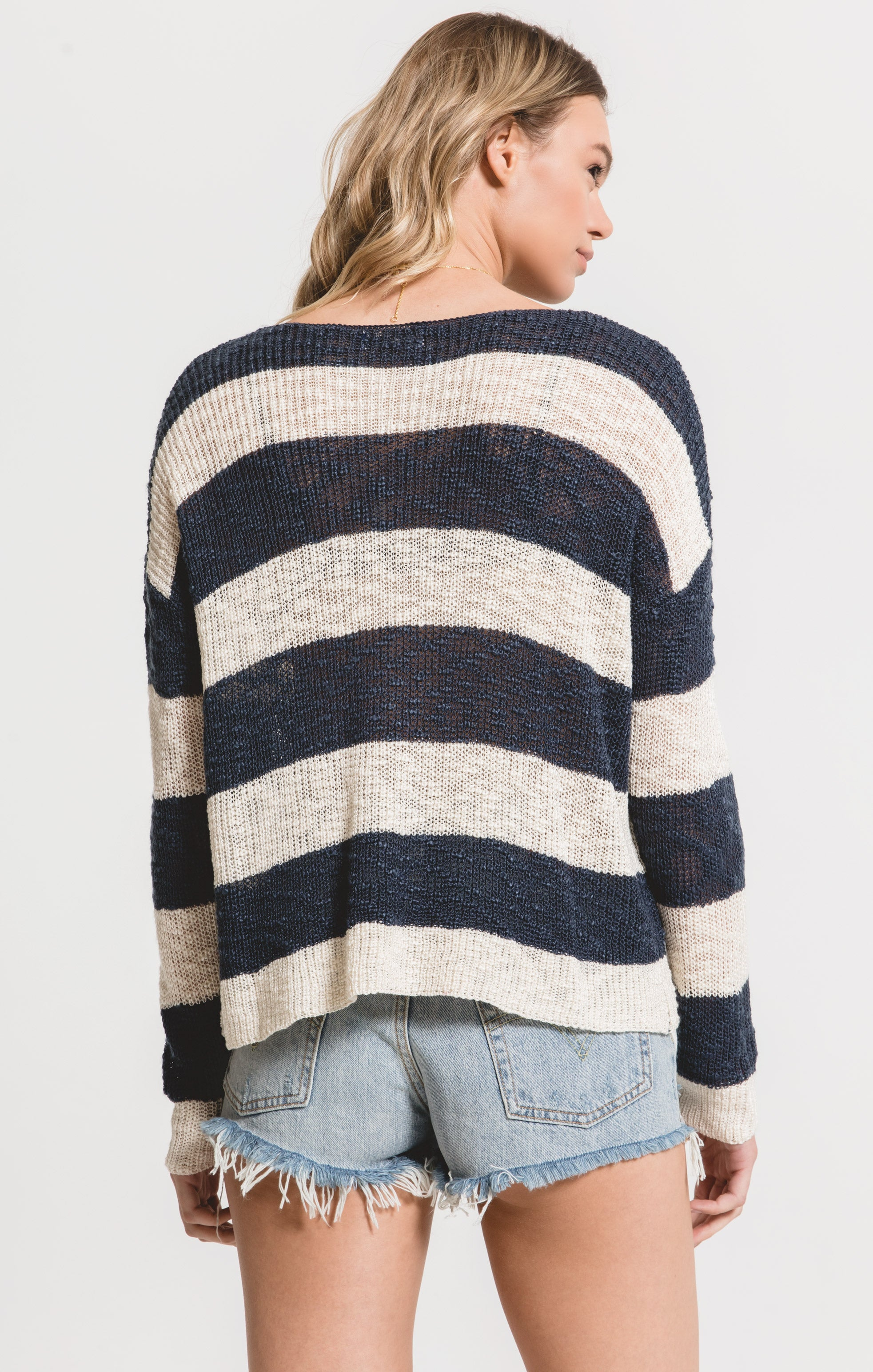 Sweaters Tuscany Sweater by Rag Poets Twilight Blue