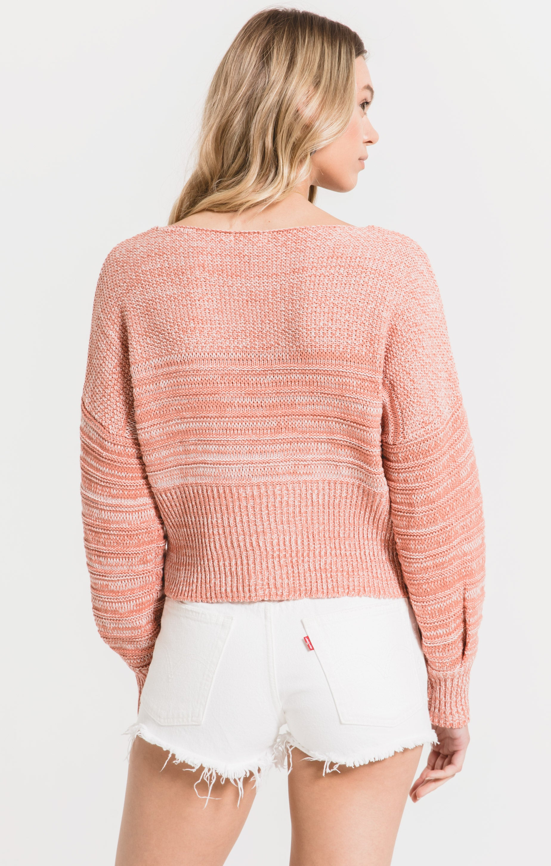 Sweaters Spiagga Sweater by Rag Poets Rose Dawn