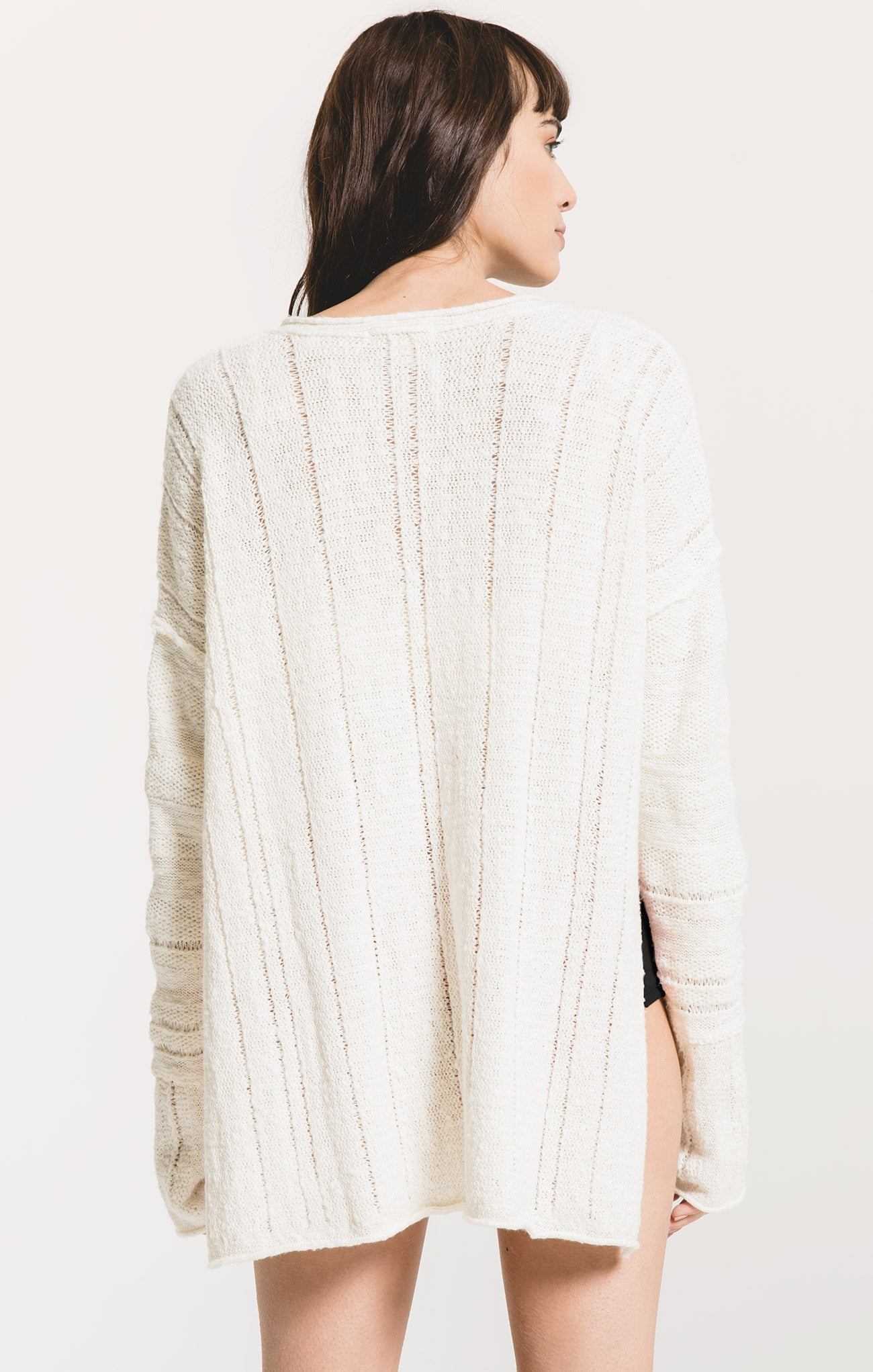 Sweaters Maiori Tunic Sweater by Rag Poets Gardenia