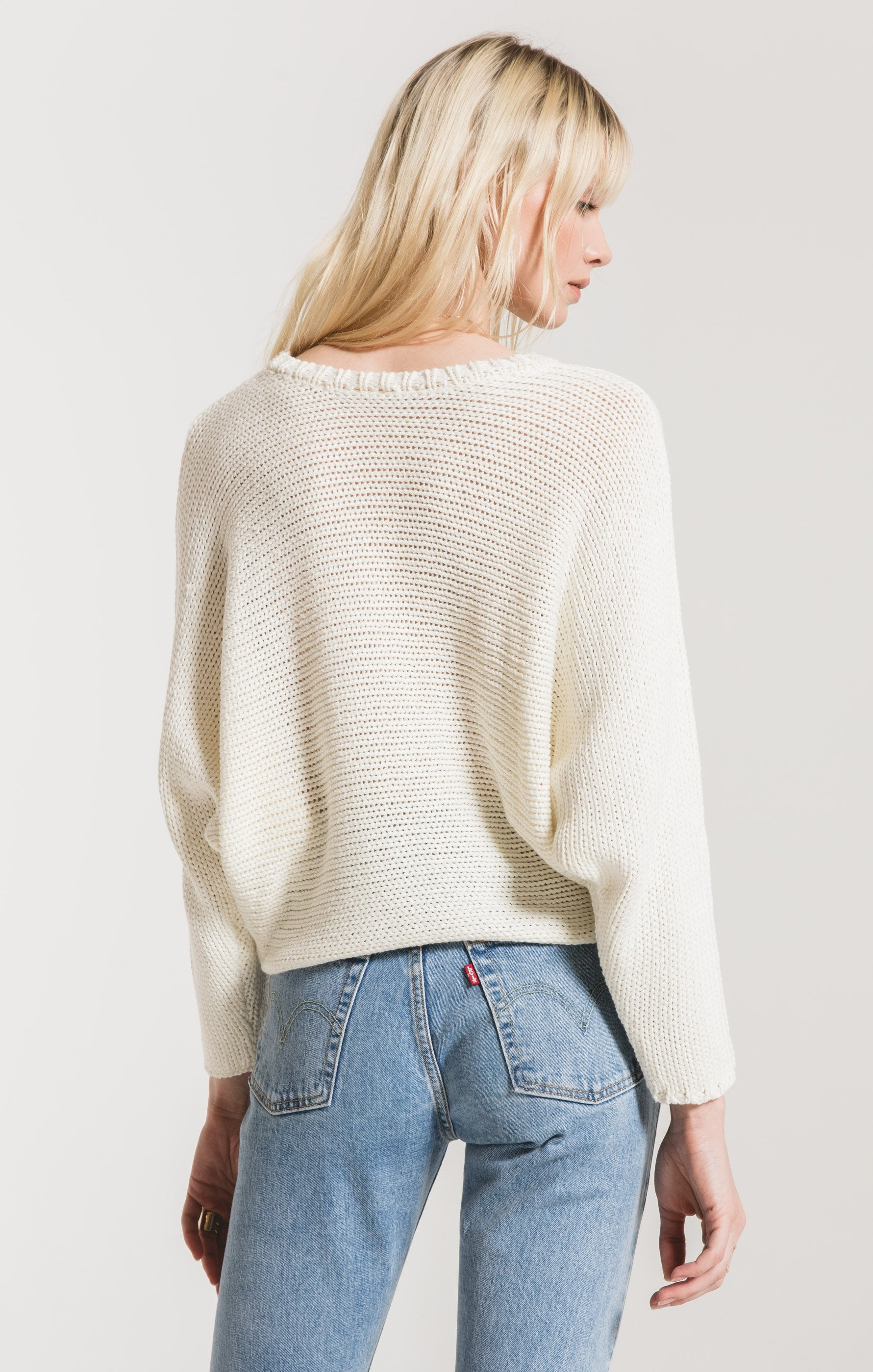Sweaters Cipriani Crewneck Sweater by Rag Poets White