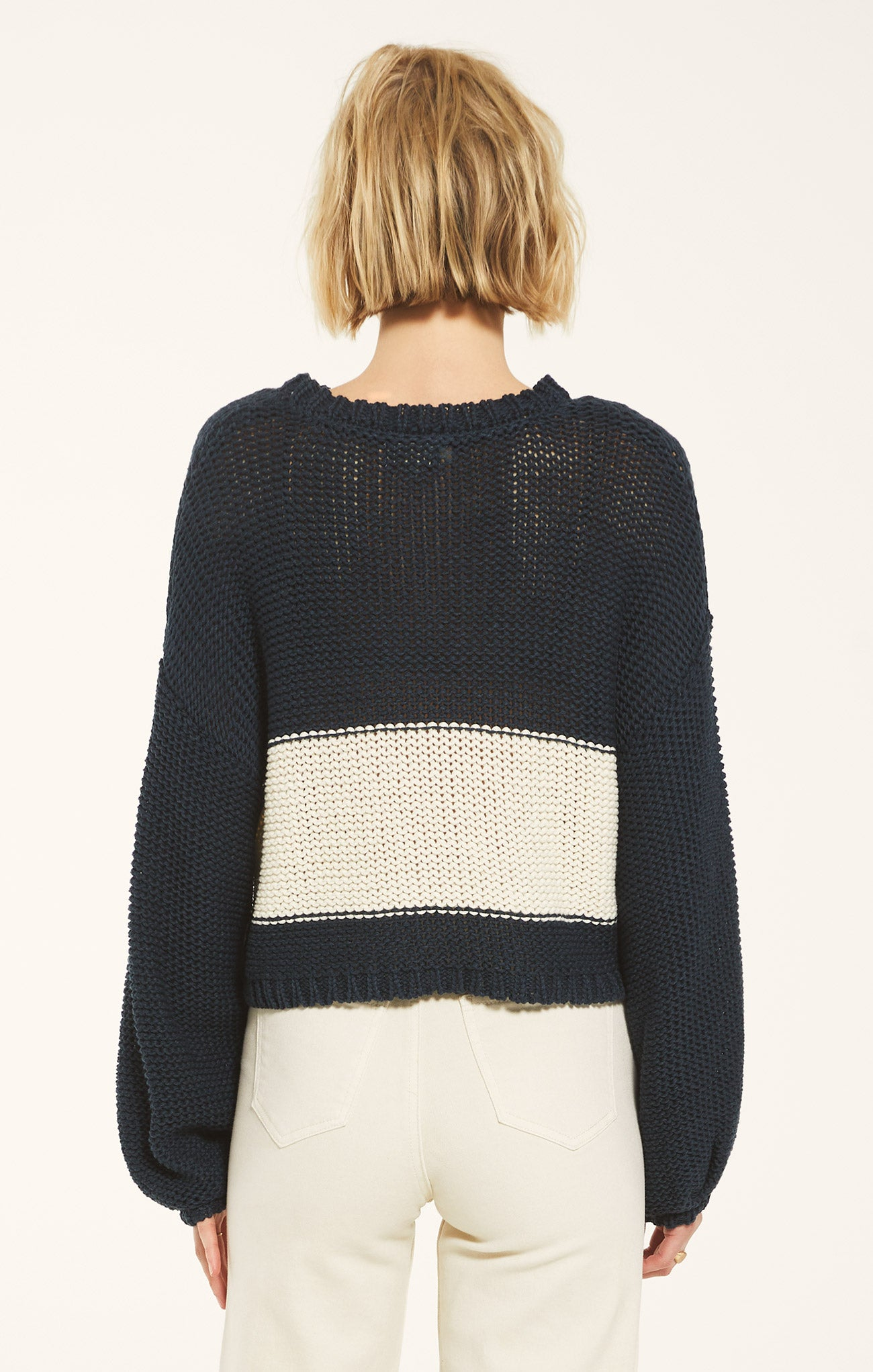 Sweaters Lafayette Sweater by Rag Poets Midnight Navy