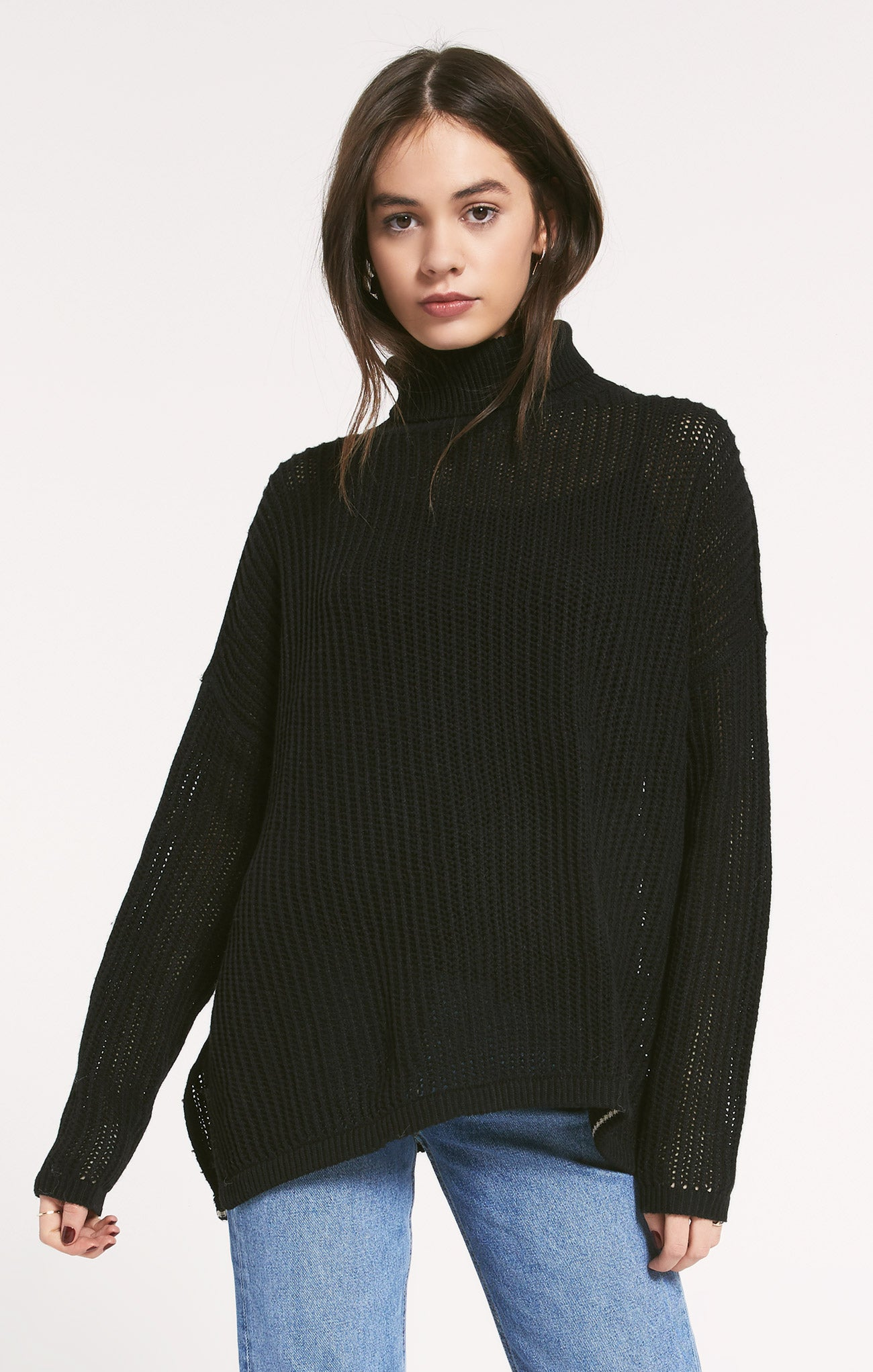 Sweaters Oxford Sweater by Rag Poets Black