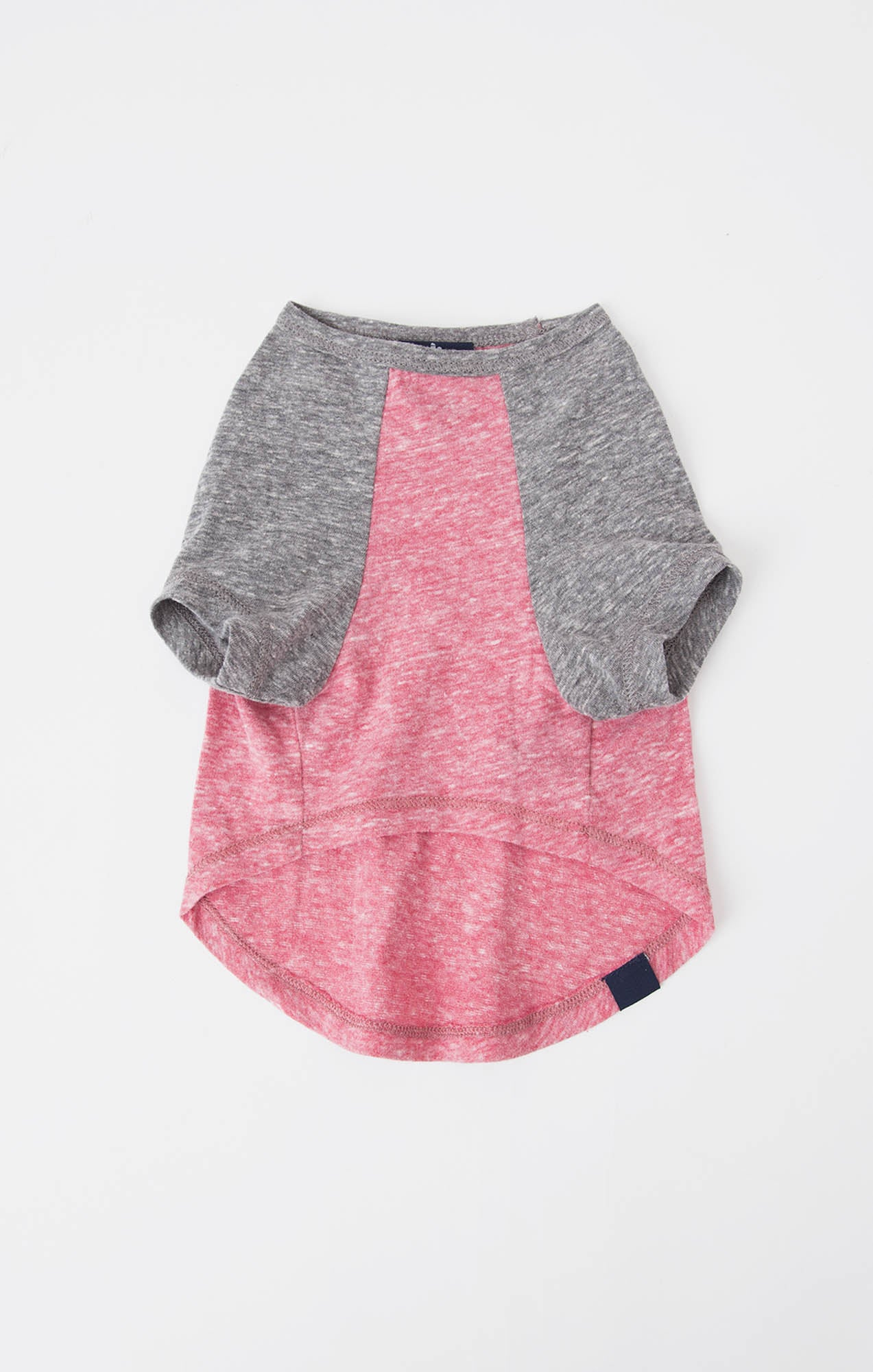 Tops The Sno Yarn Baseball Tee by ZOO SUPPLY Earth Red/Heather Grey