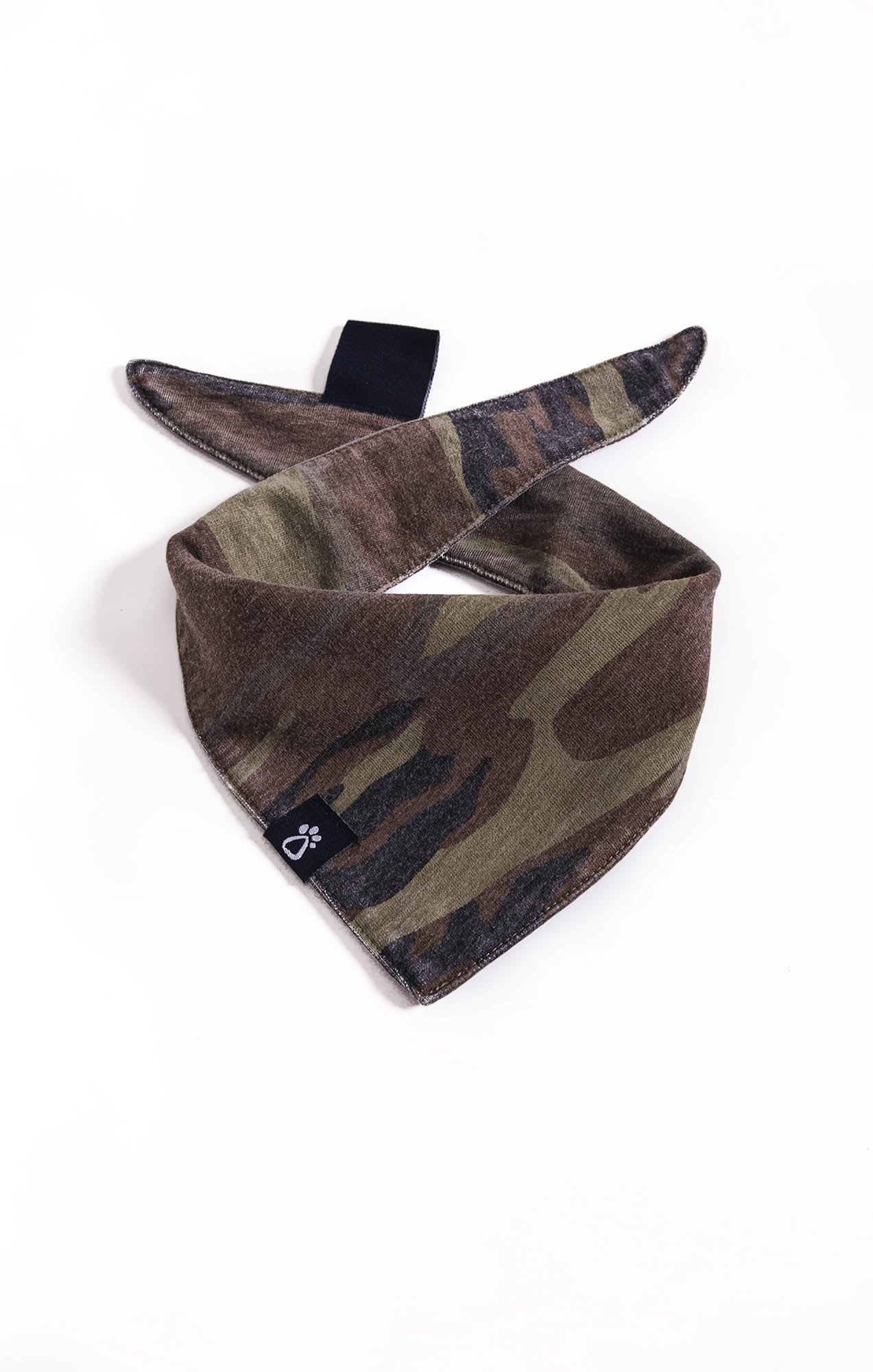 Bandana The Camo Bandana by ZOO SUPPLY Camo Green