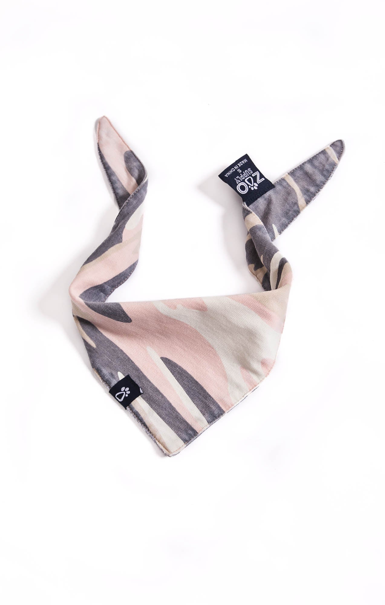 Accessories The Camo Bandana by ZOO SUPPLY Camo Pink