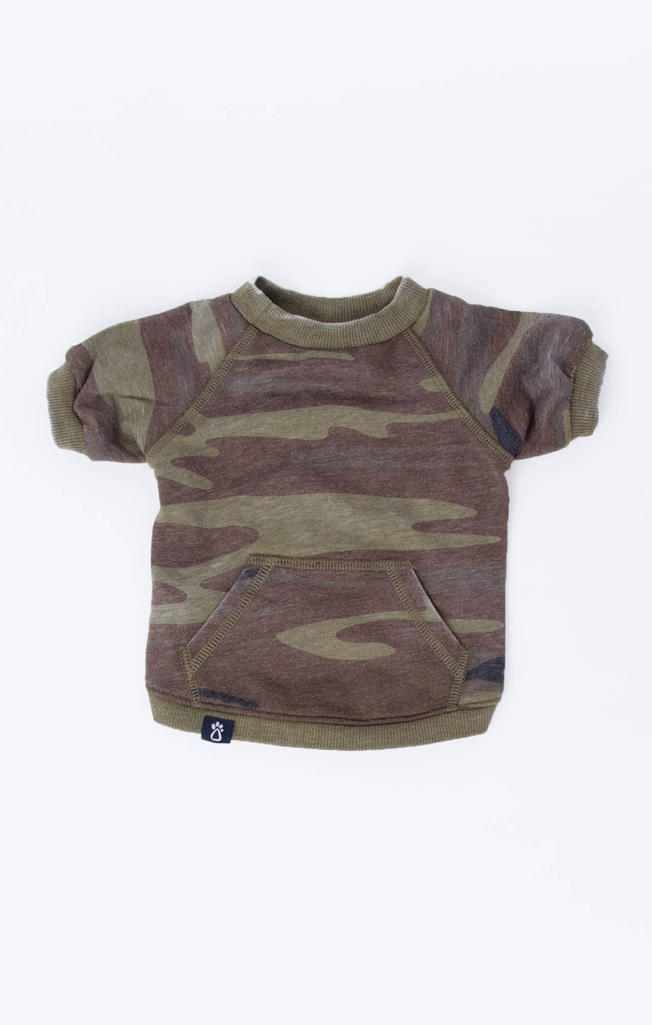 Tops The Camo Pullover by ZOO SUPPLY Camo Green