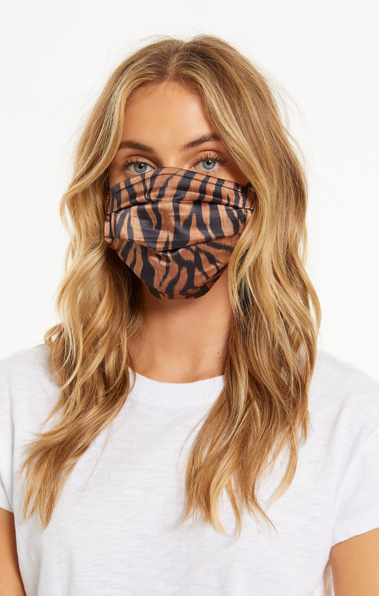 Accessories Safari Satin Reusable Face Mask (4-Pack) Black