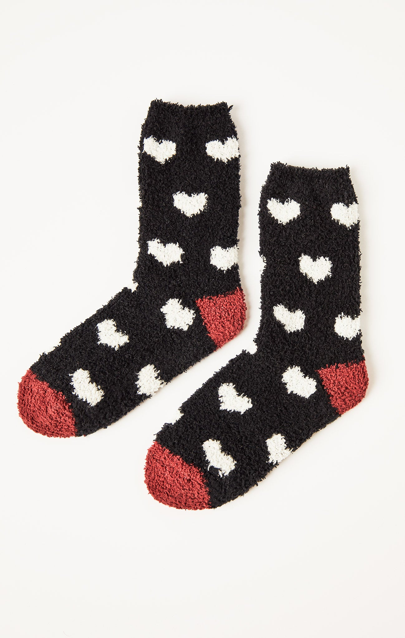 Accessories Heart Plush Socks Heart Plush Socks