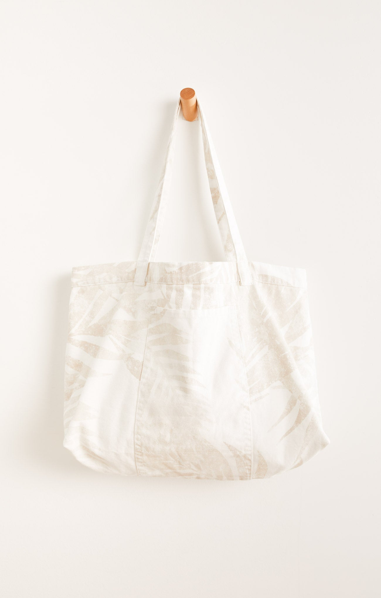 Accessories Playa Palm Tote White