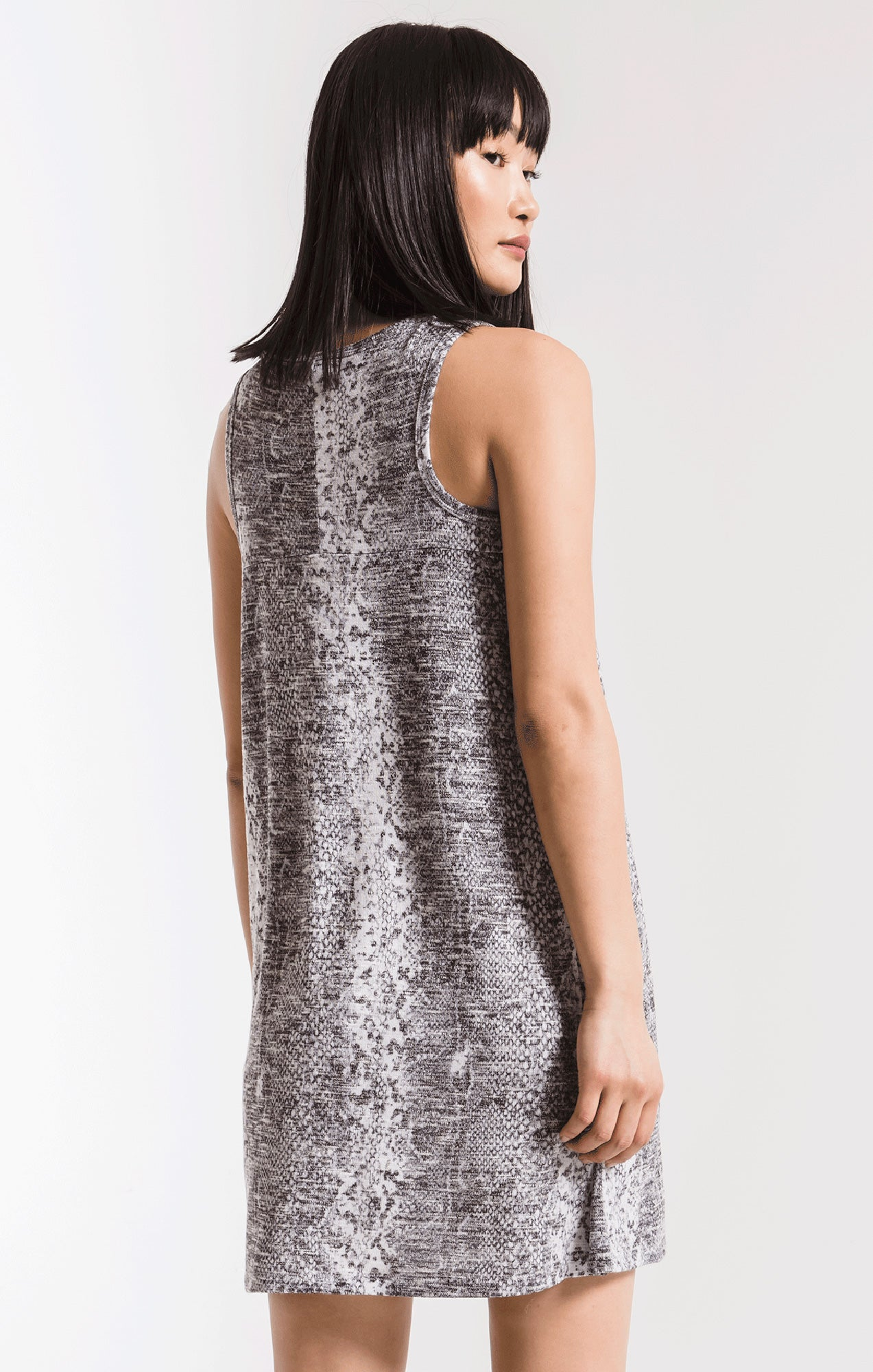 Dresses Snakeskin Breezy Dress Grey Combo