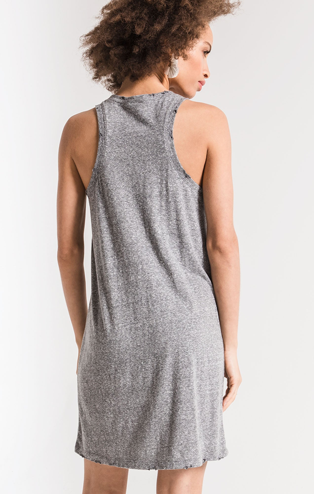 Dresses Triblend Muscle Dress Heather Grey