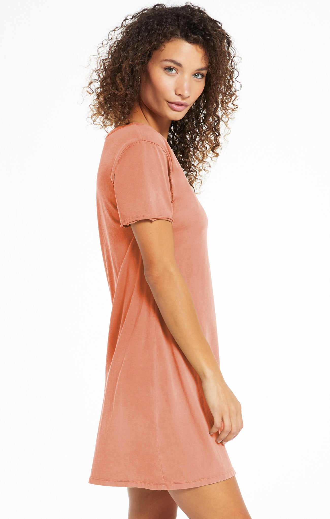 Dresses Organic Cotton T-Shirt Dress Desert Sand