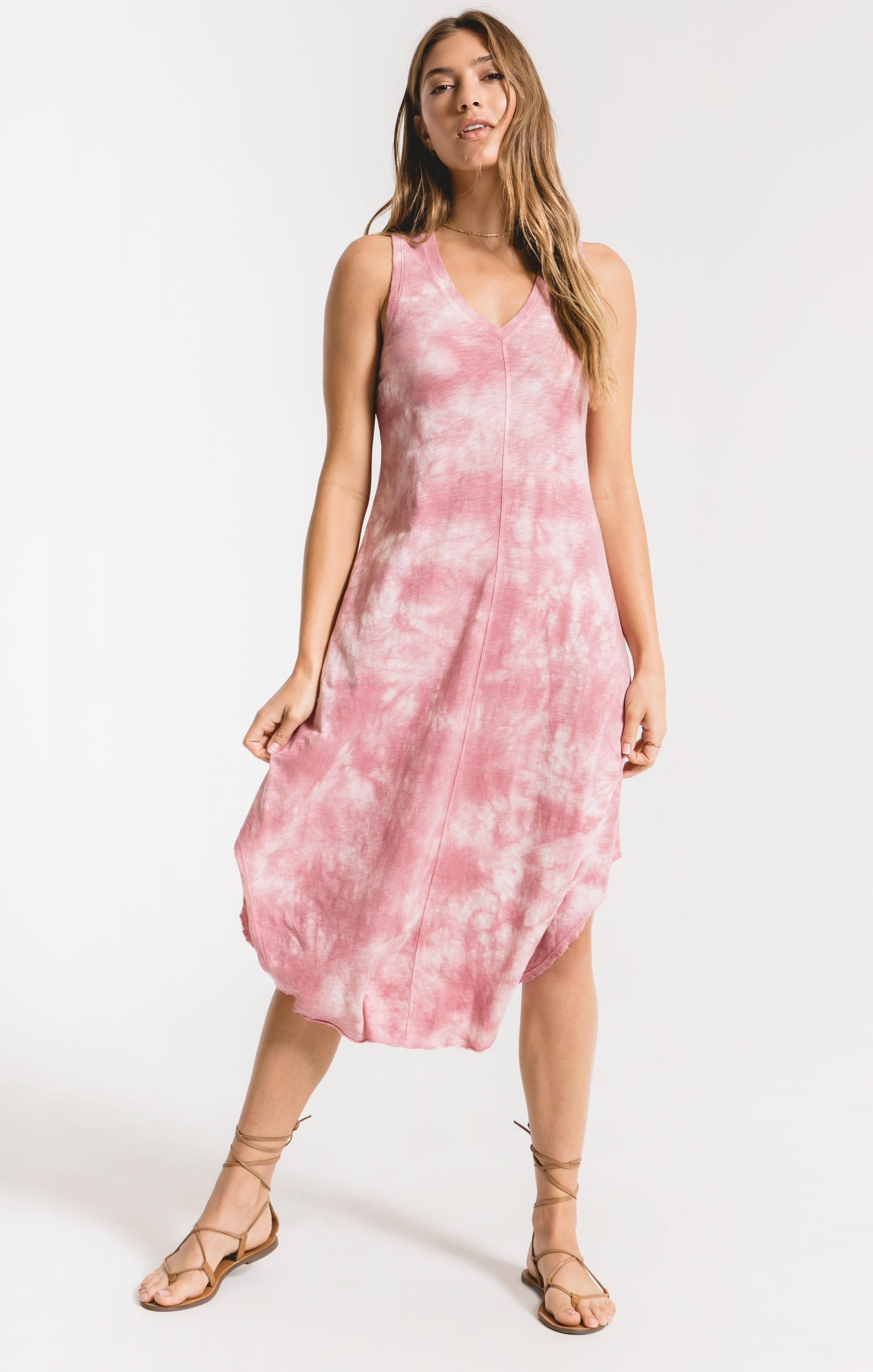 Dresses Cloud Tie-Dye Reverie Dress Zephyr Pink