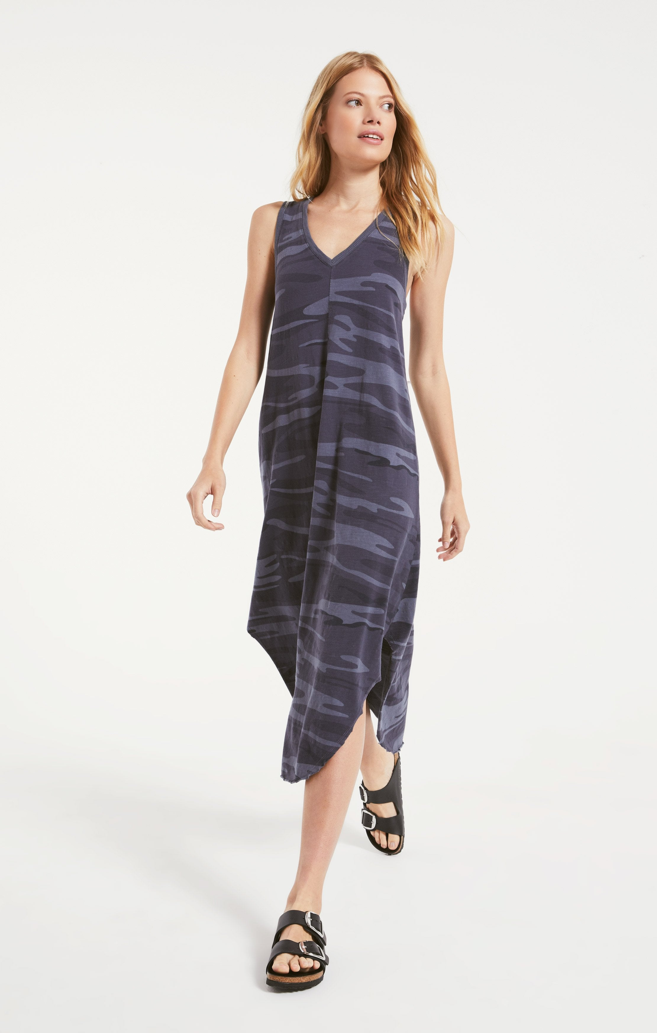 Dresses Camo Reverie Dress Camo Dark Blue