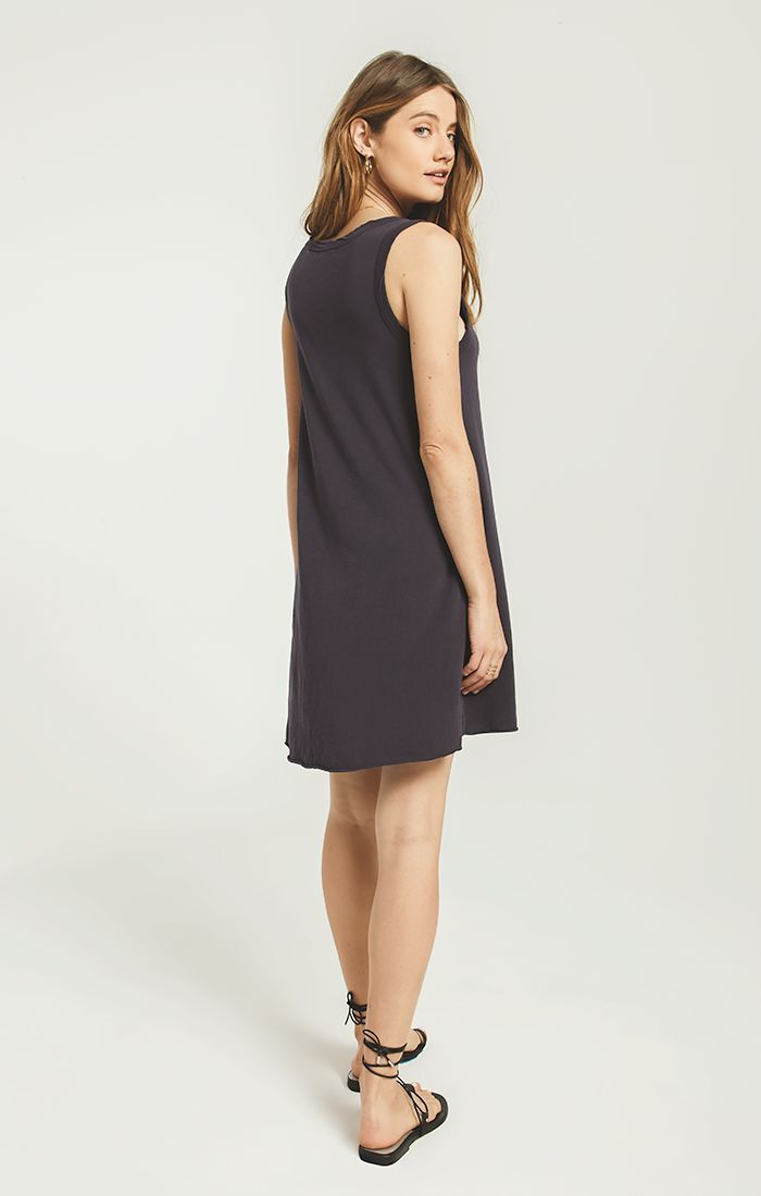 Dresses Avery Jersey Dress Washed Black