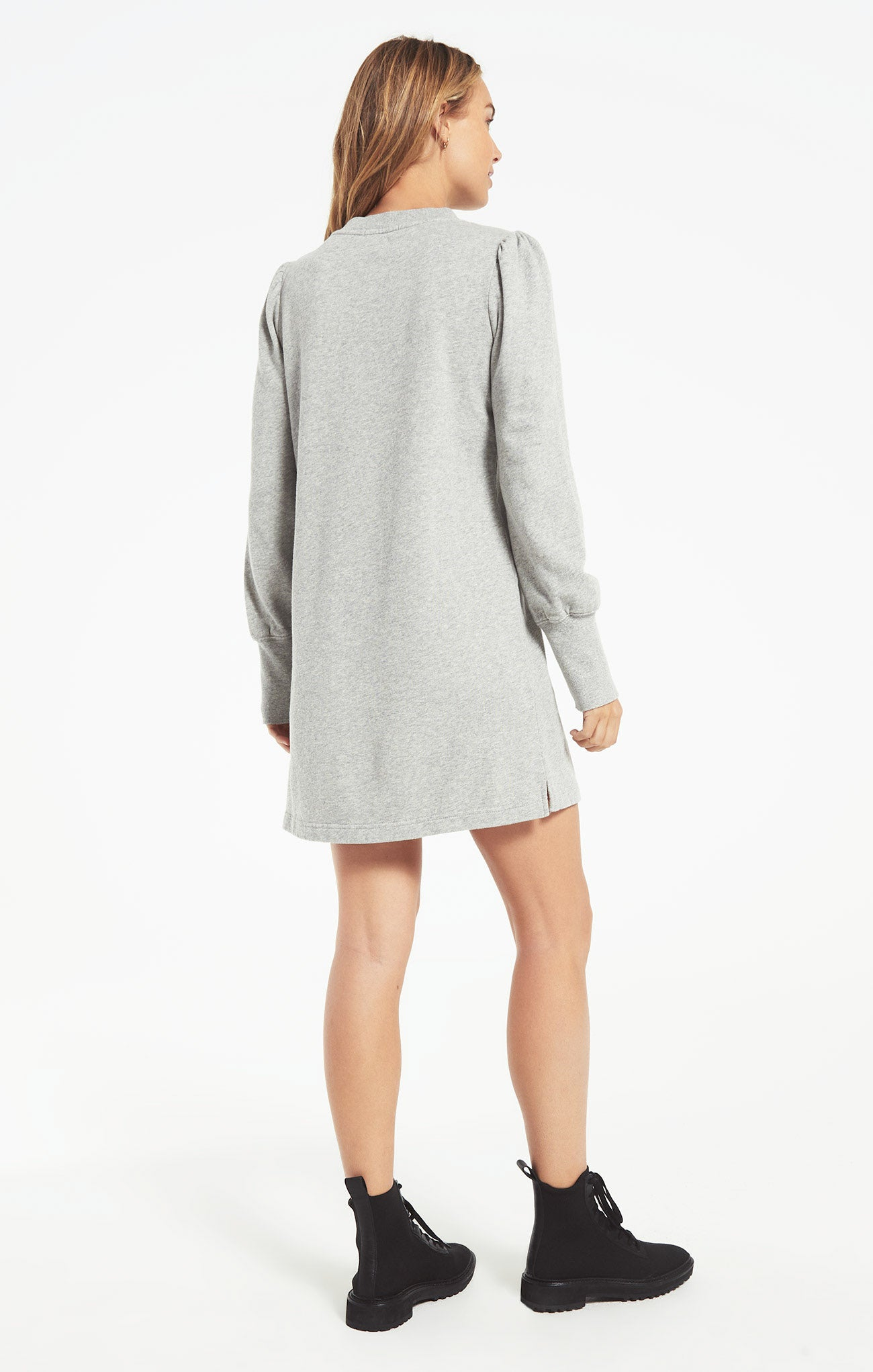 Dresses Kyra Terry Dress Heather Grey