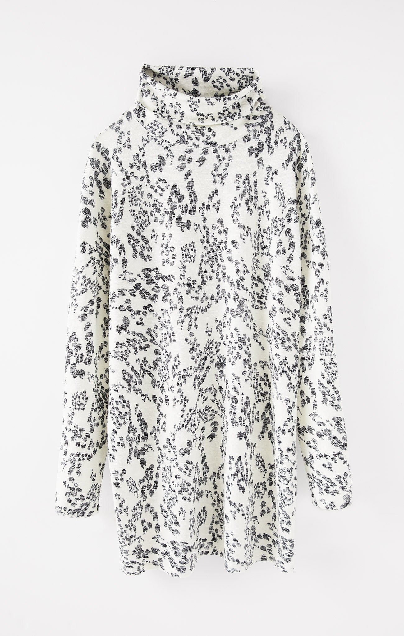 Dresses Constance Swirl Long Sleeve Dress Bone