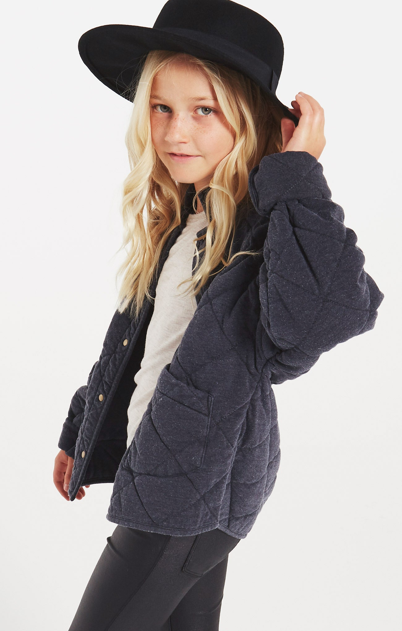 Jackets Girls Maya Quilted Jacket Girls Maya Quilted Jacket