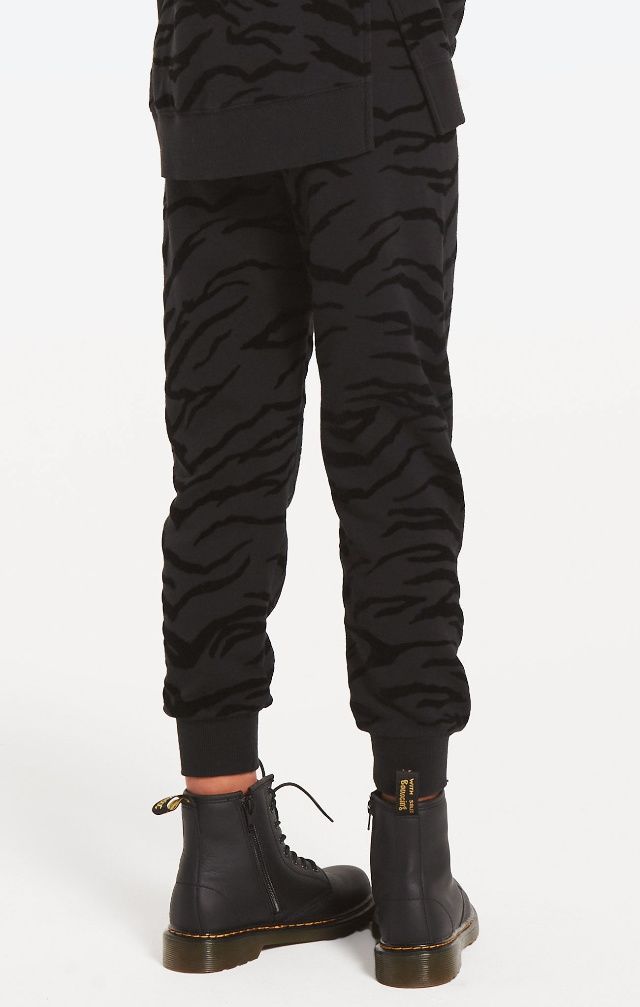 Pants Girls Ava Tiger Jogger Black