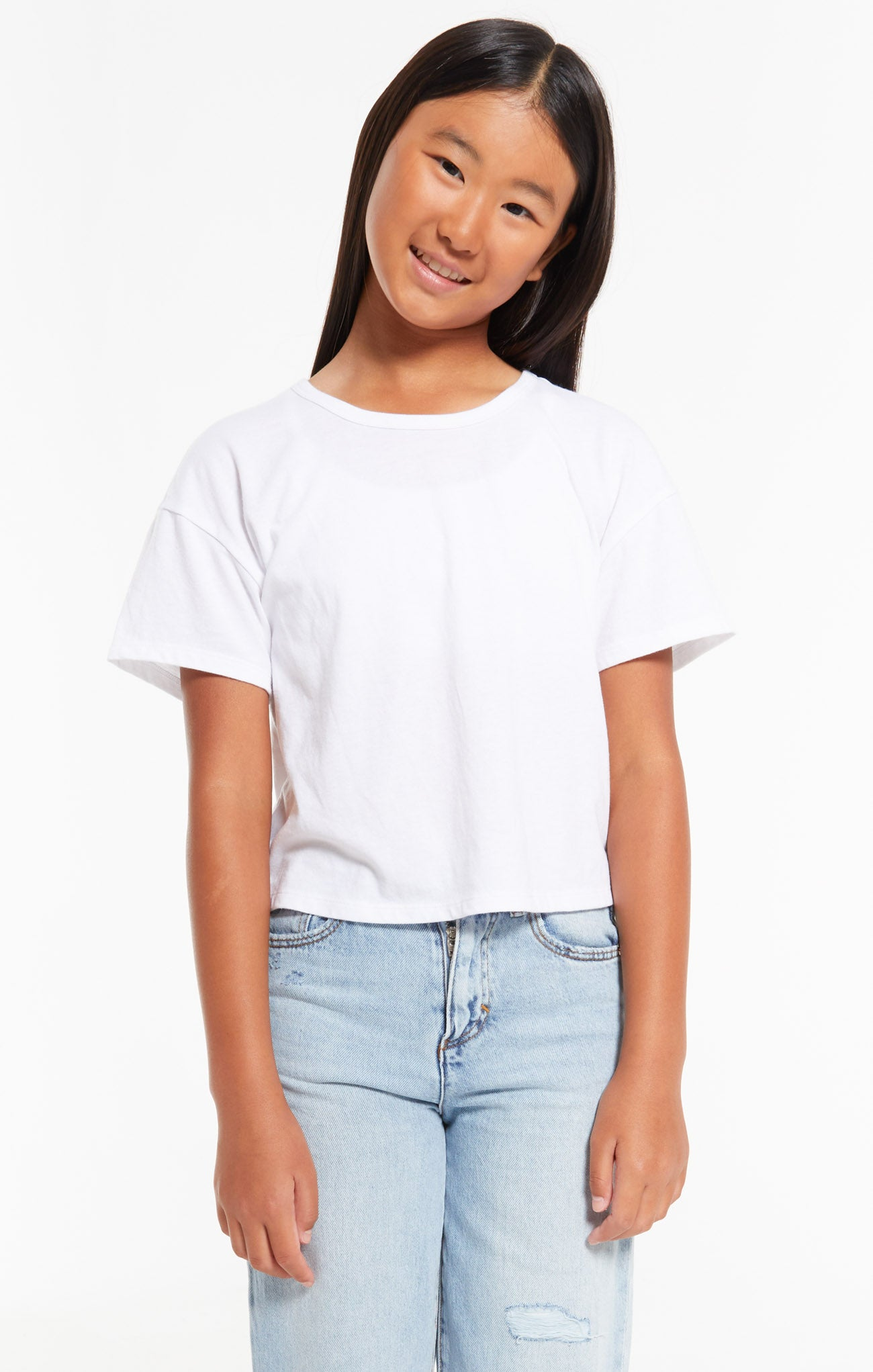 Tops Girls Mila Jersey Tee White