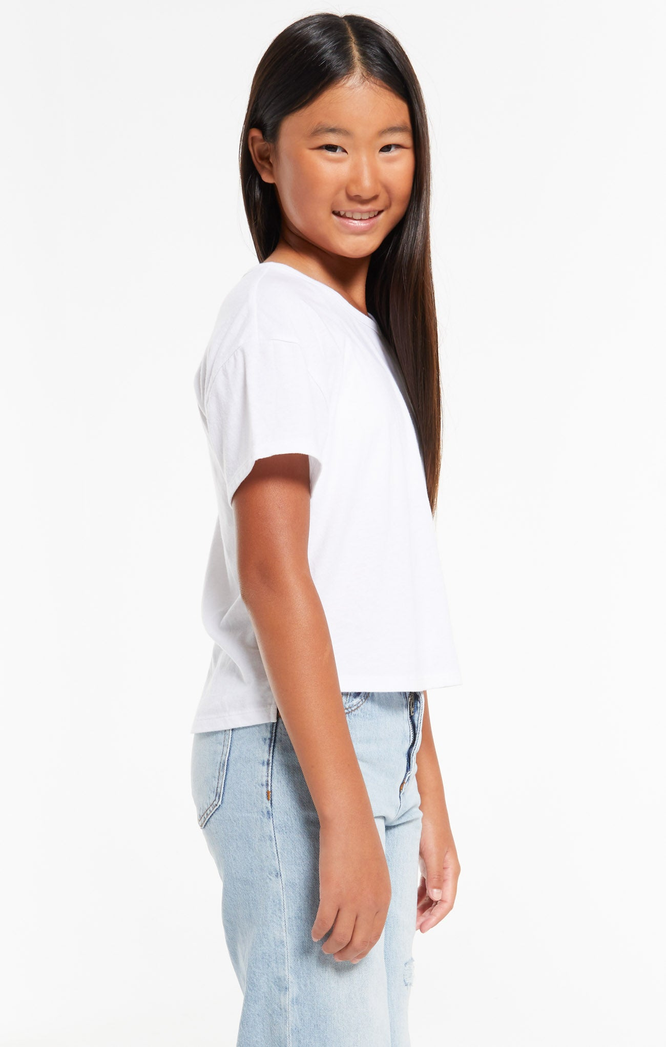 Tops Girls Mila Jersey Tee Girls Mila Jersey Tee