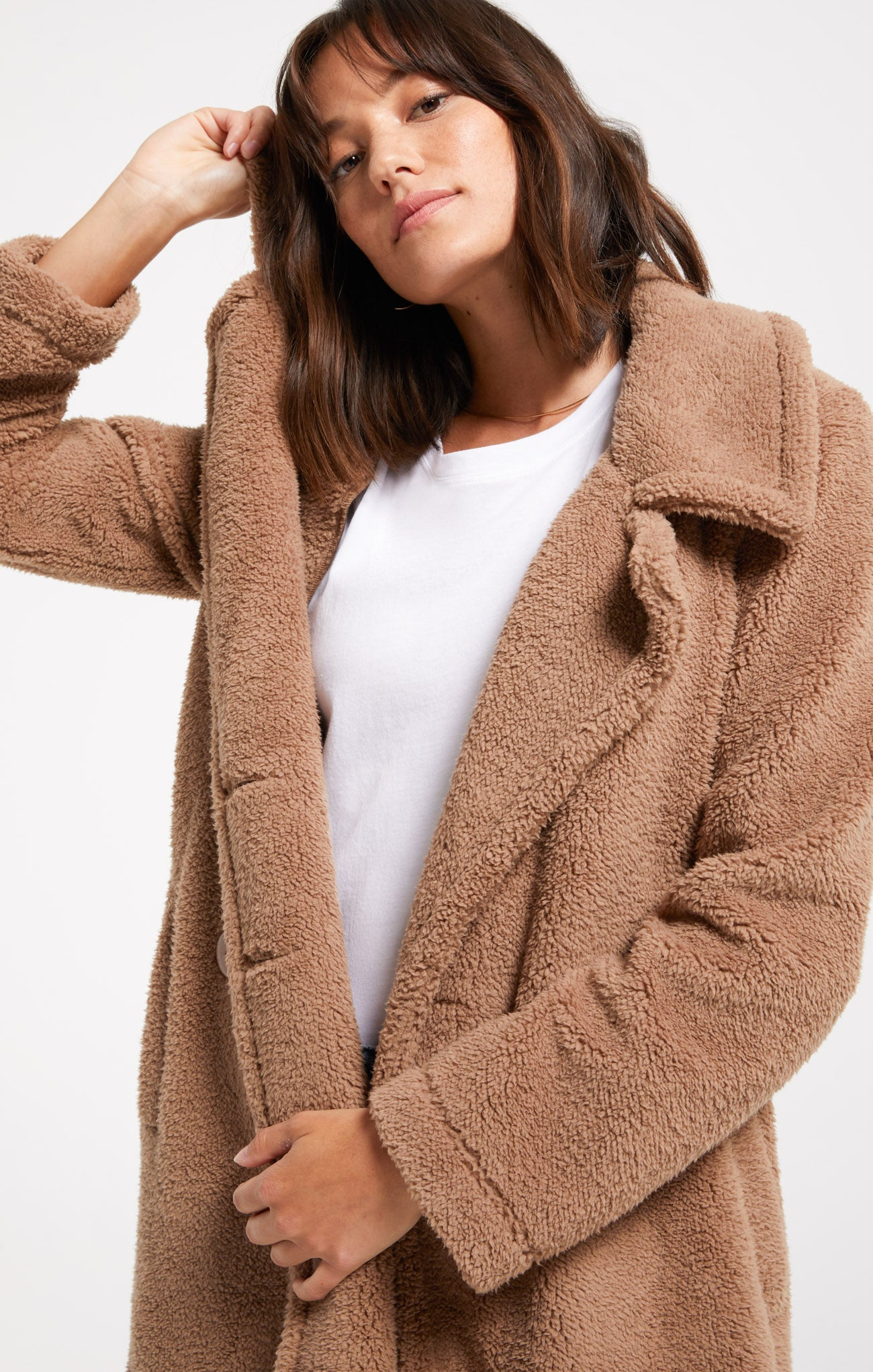 Coats Cozy Sherpa Coat Cozy Sherpa Coat