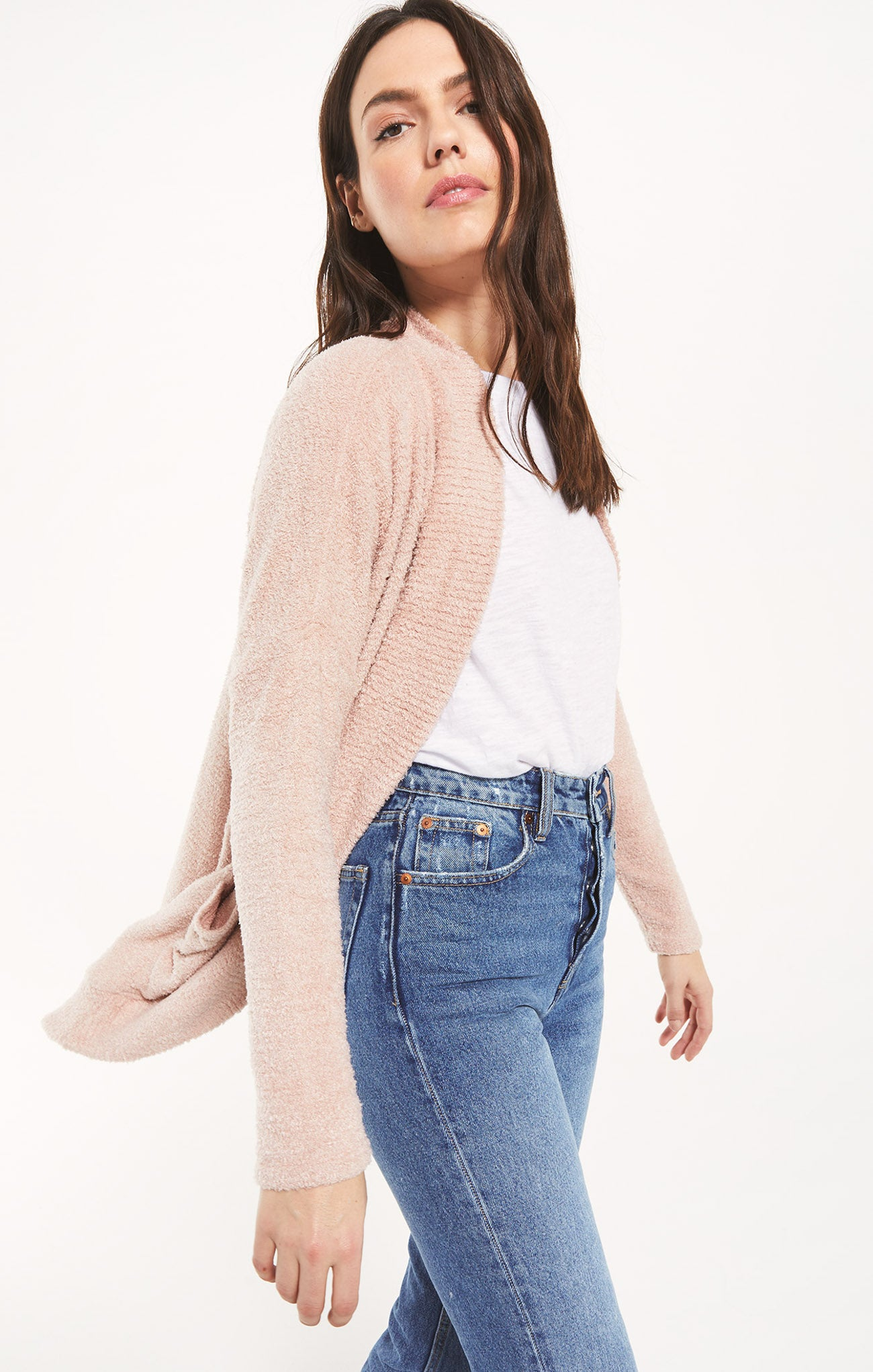 Jackets Kaye Feather Cardigan Kaye Feather Cardigan