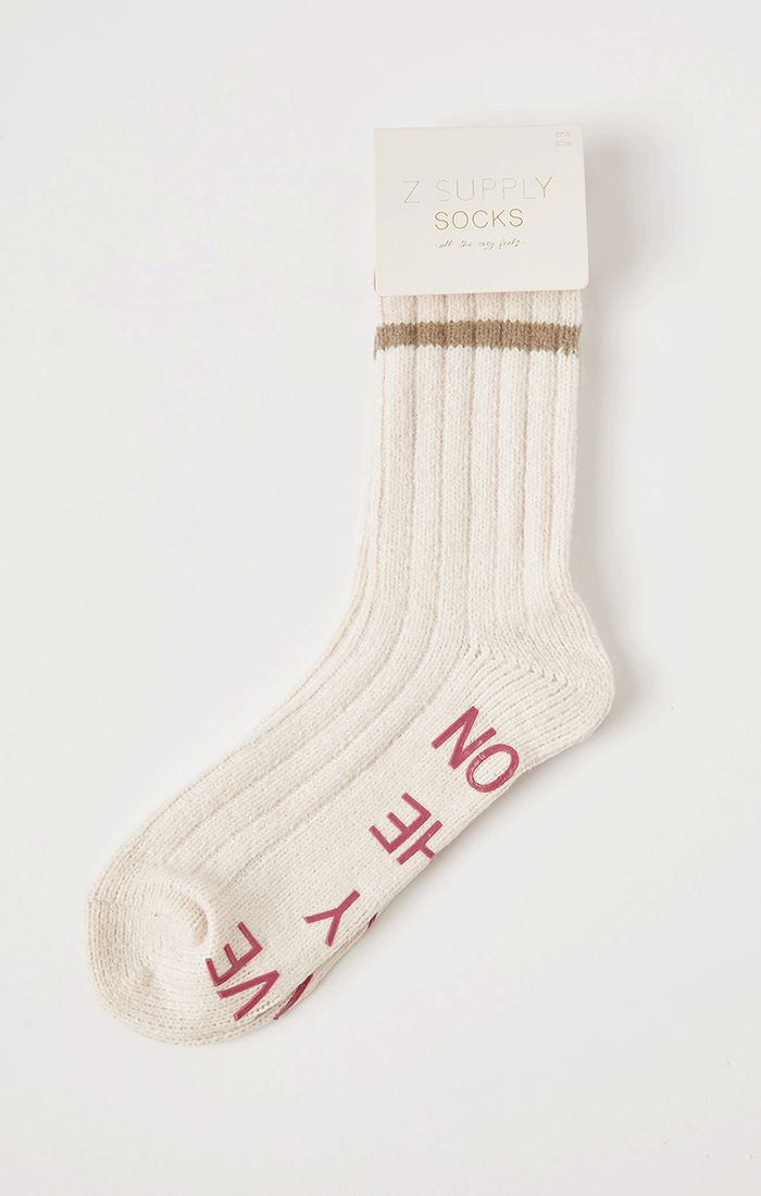 Accessories Love By Rib Socks Bone