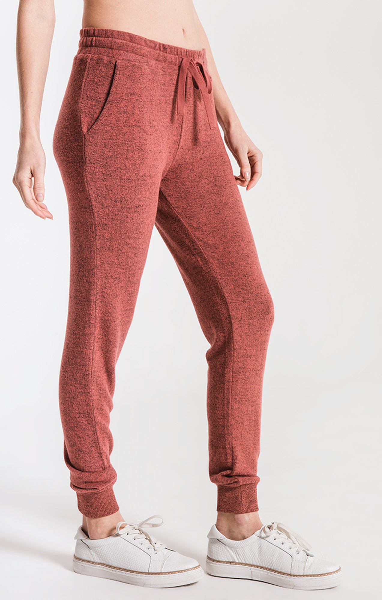 Pants Marled Jogger Pant Mesa Red