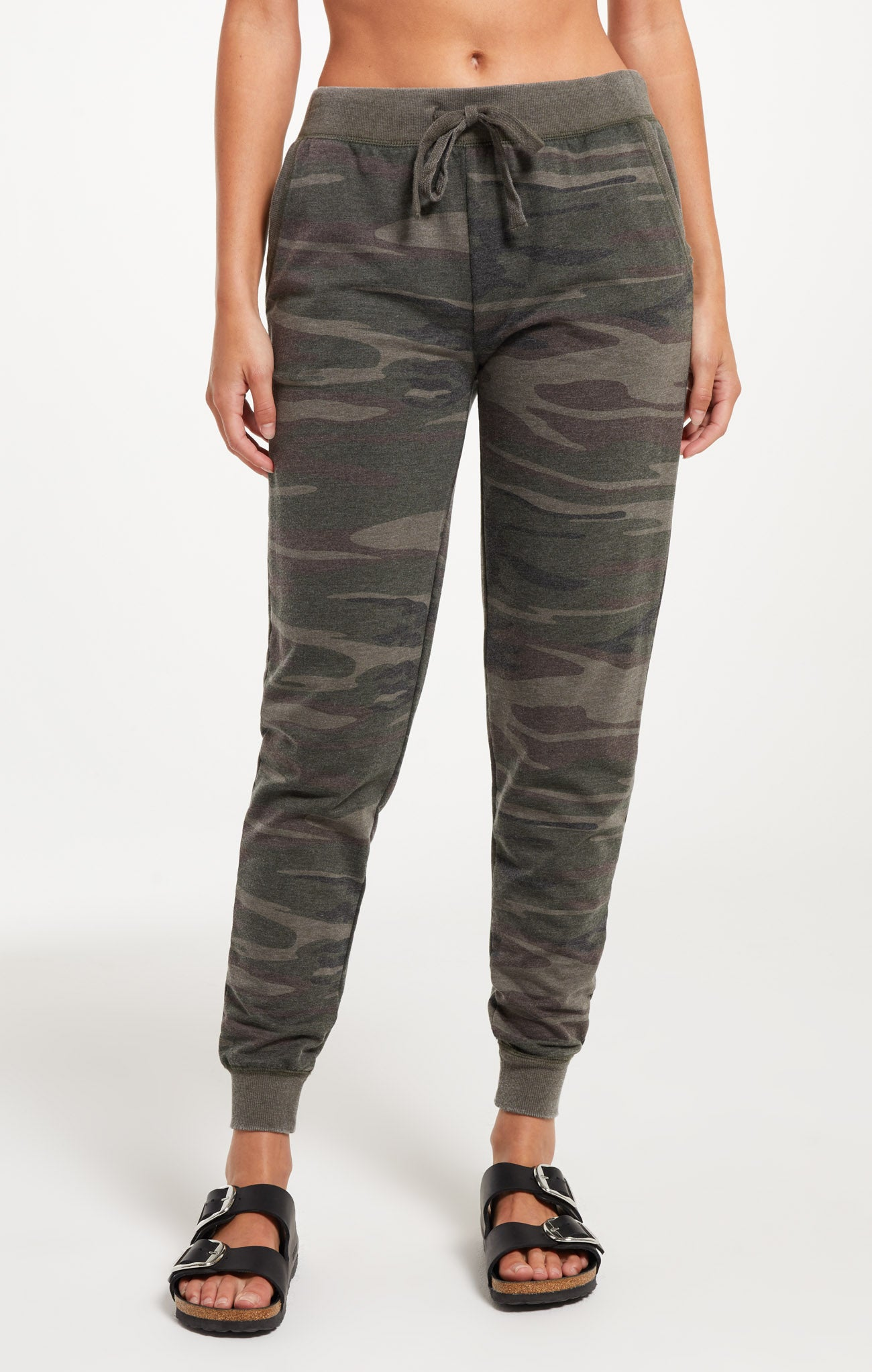 Pants Camo Jogger Pant Camo Forest Green