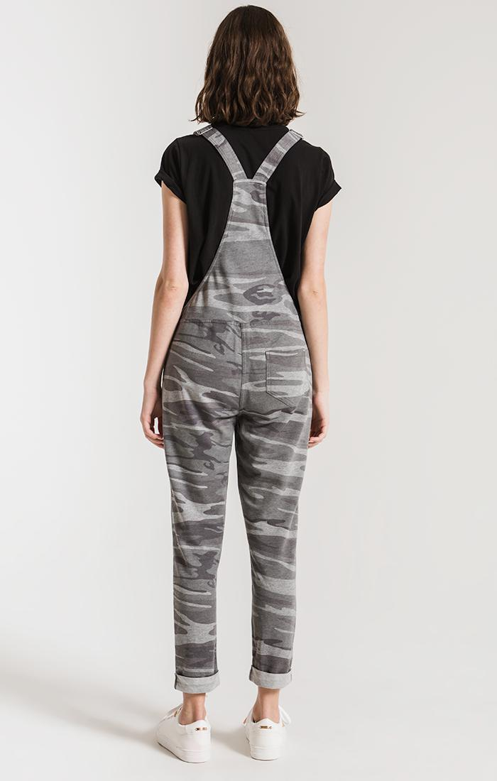 Pants The Camo Overalls Camo Dark Grey