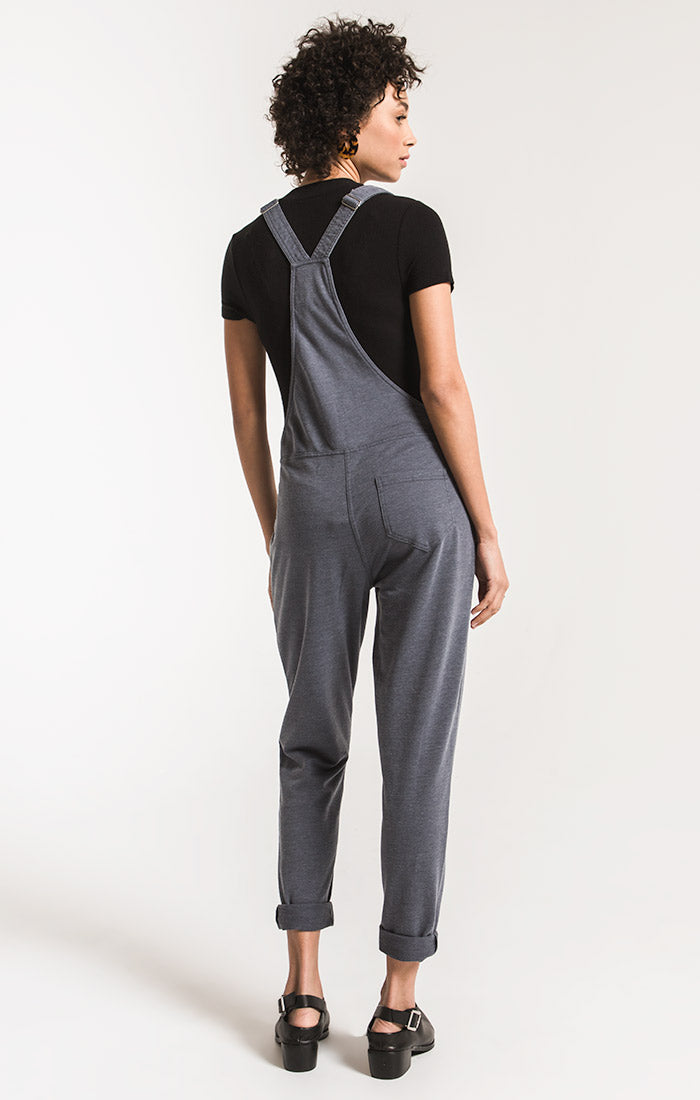 Pants French Terry Overalls Storm Grey