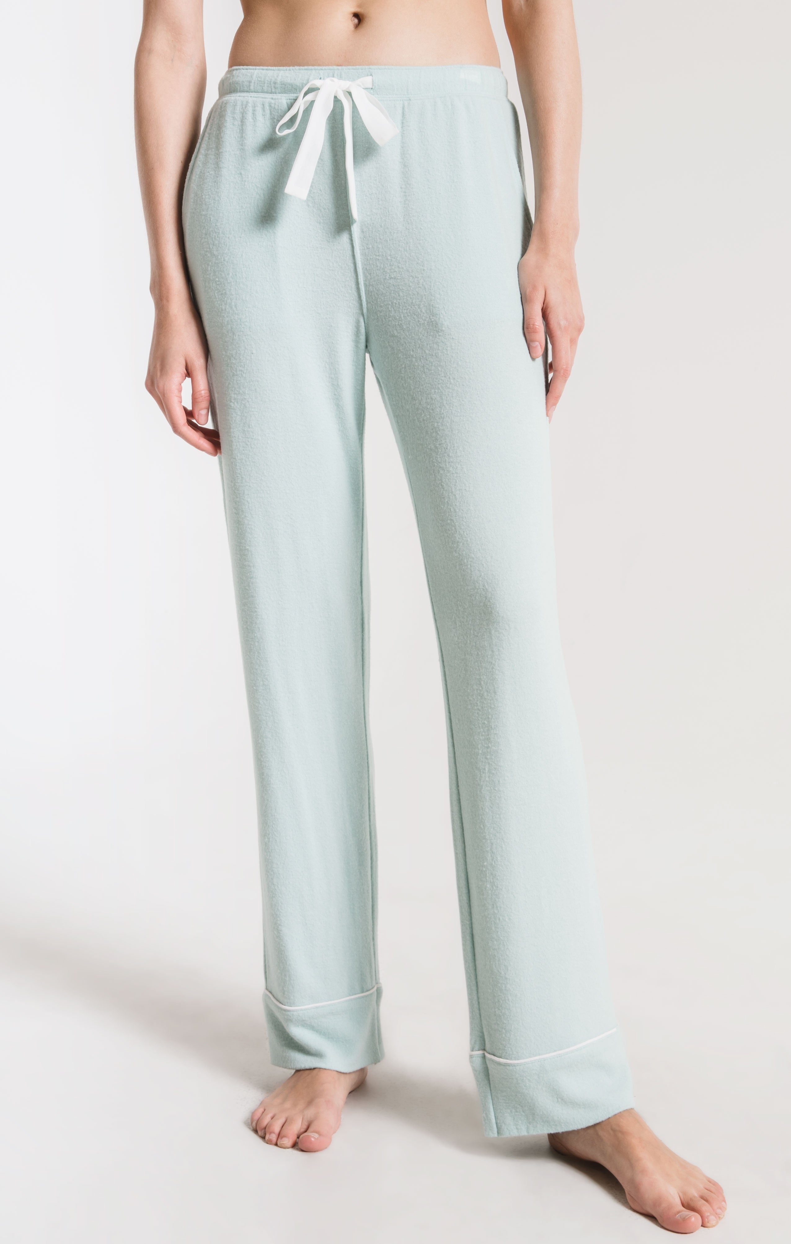Lounge The Luxe Menswear Pajama Pant Blue Haze
