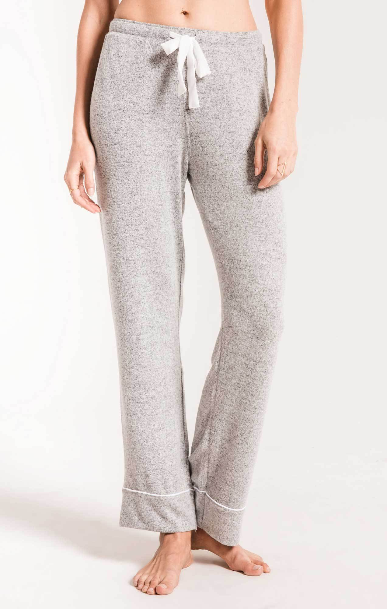 Lounge The Luxe Menswear Pajama Pant Heather Grey
