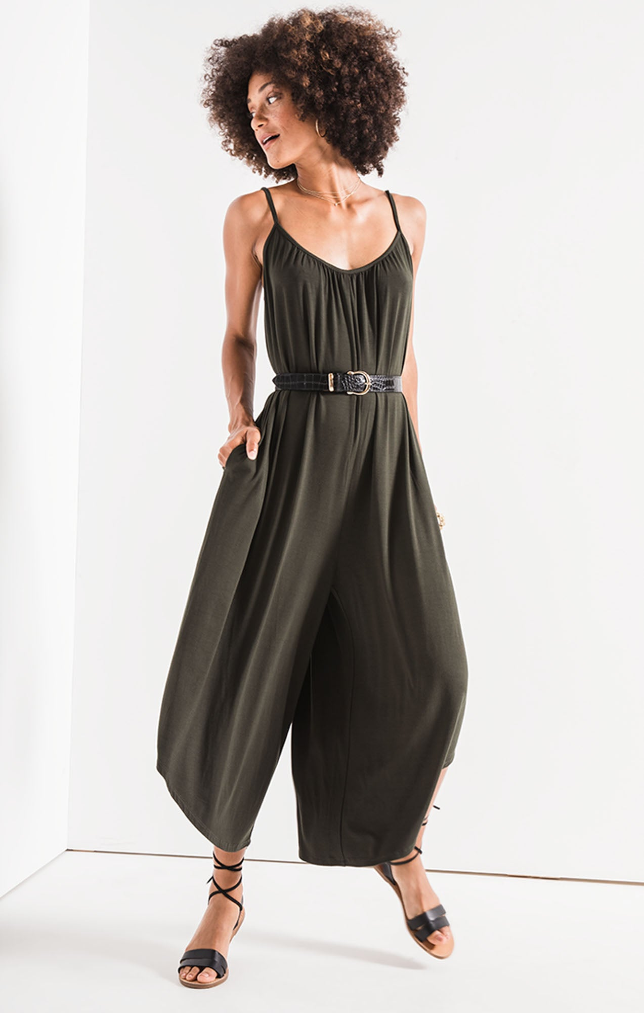 Pants Flared Jumpsuit Rosin