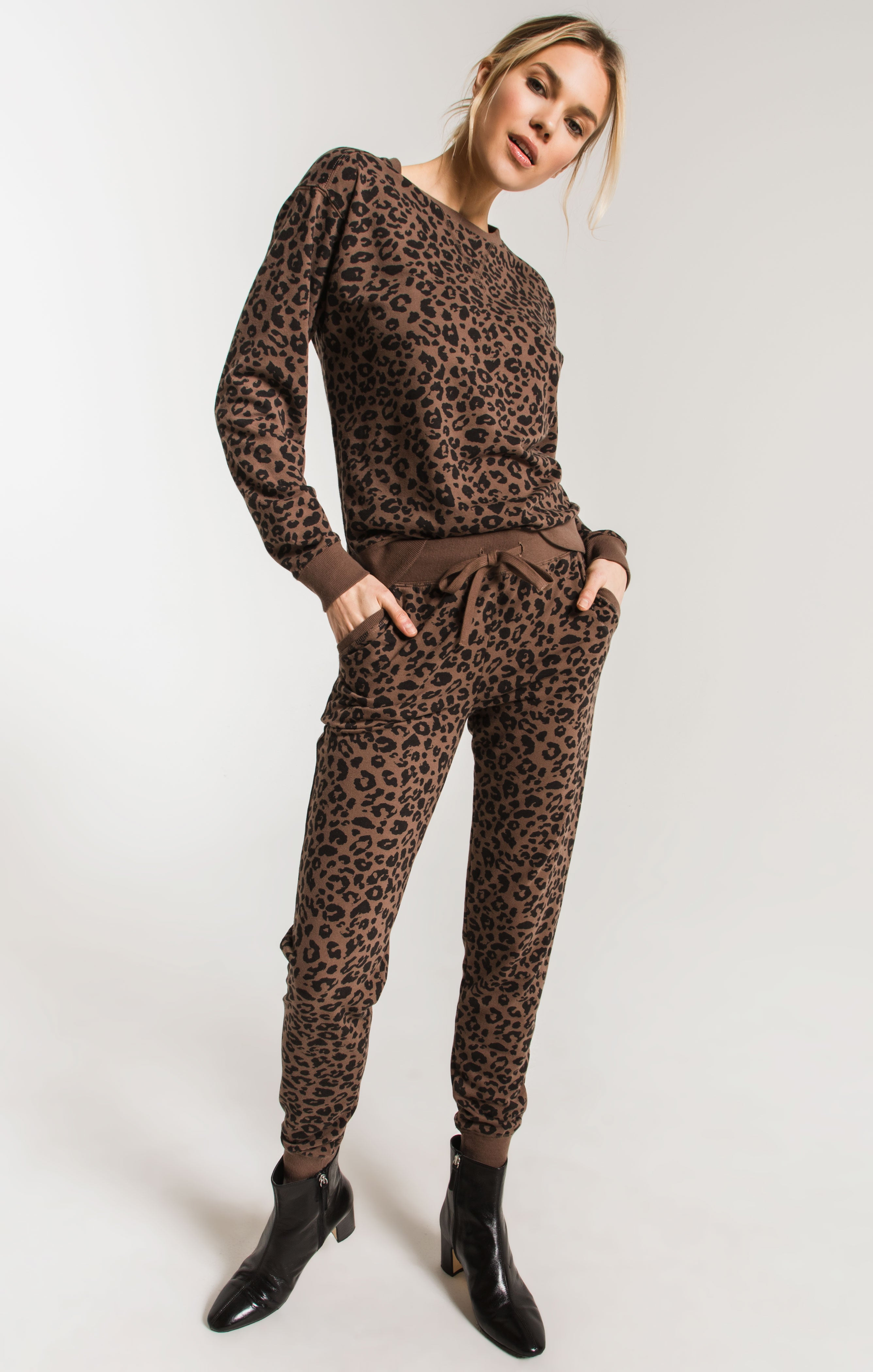 Pants The Leopard Jogger French Roast
