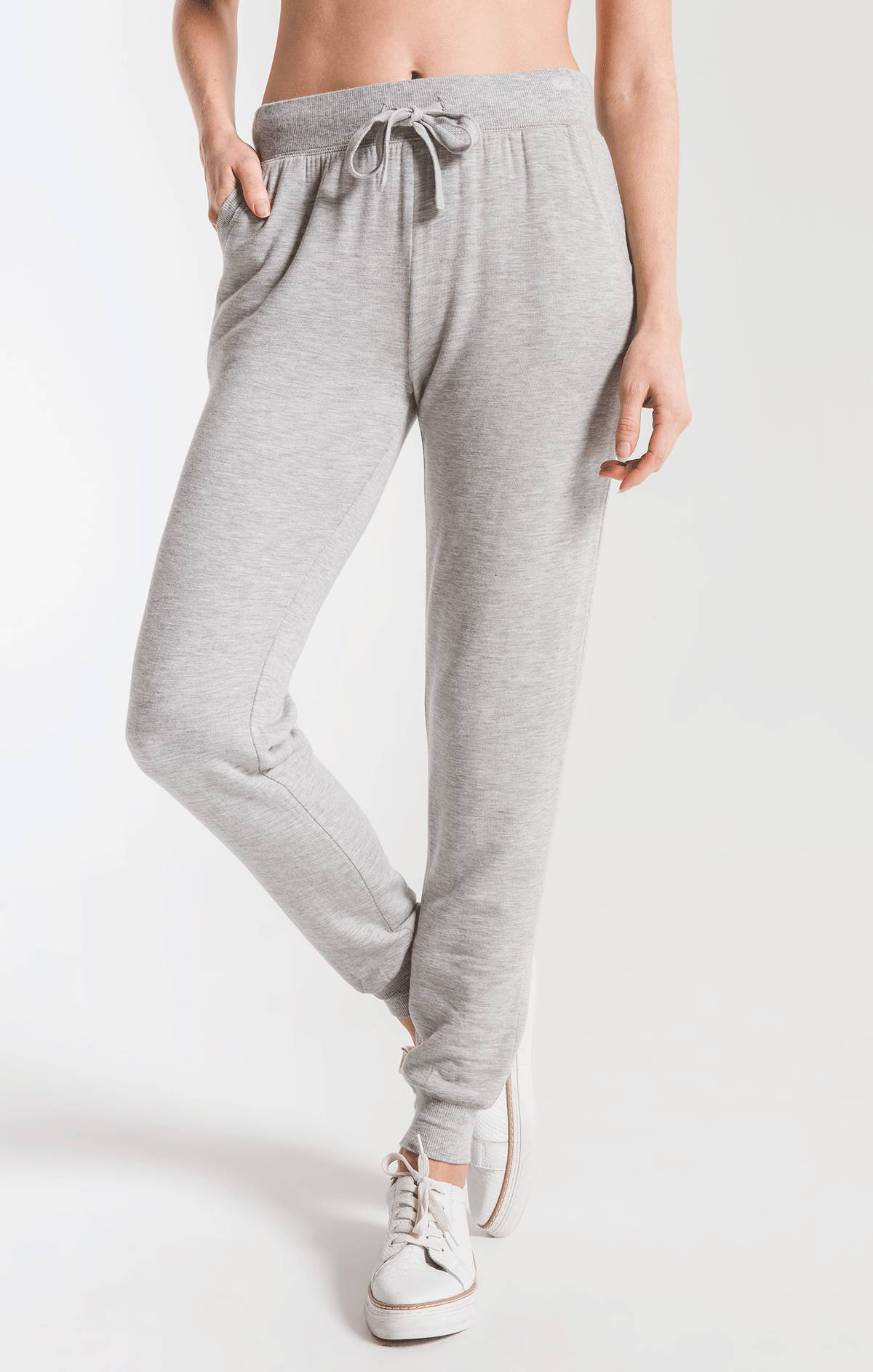 Pants Premium Fleece Jogger Heather Grey