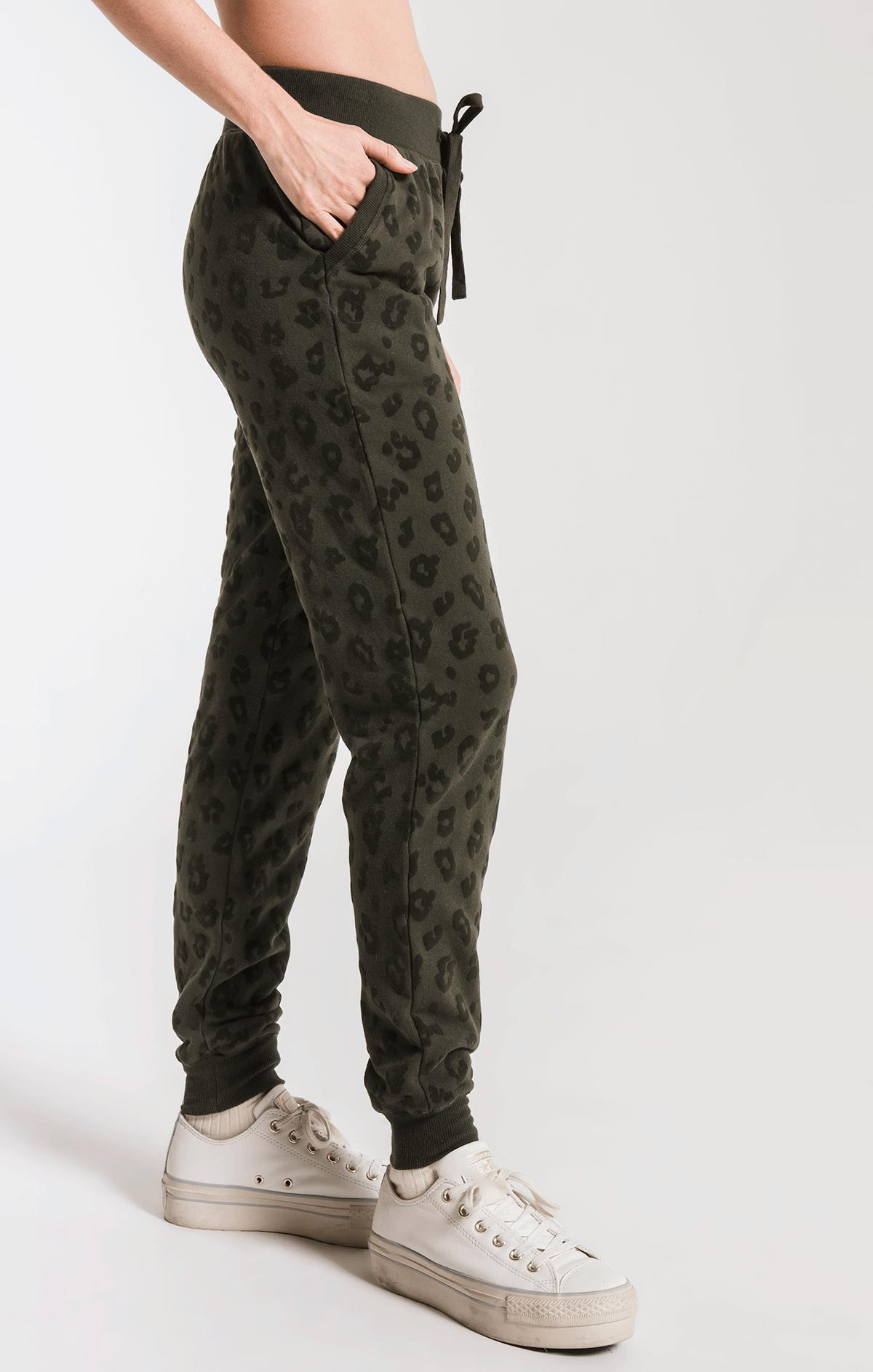 Pants Animal Flocked Jogger Rosin