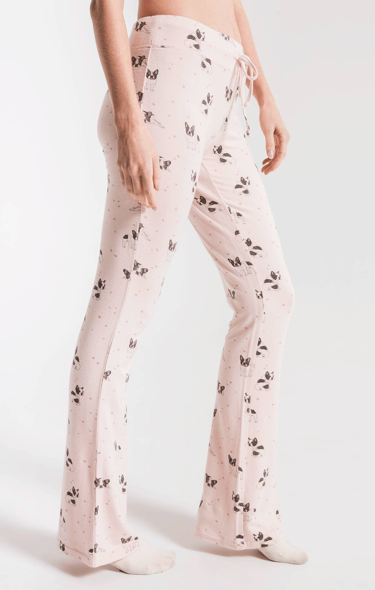Lounge The Frenchie Star Pant Peachskin