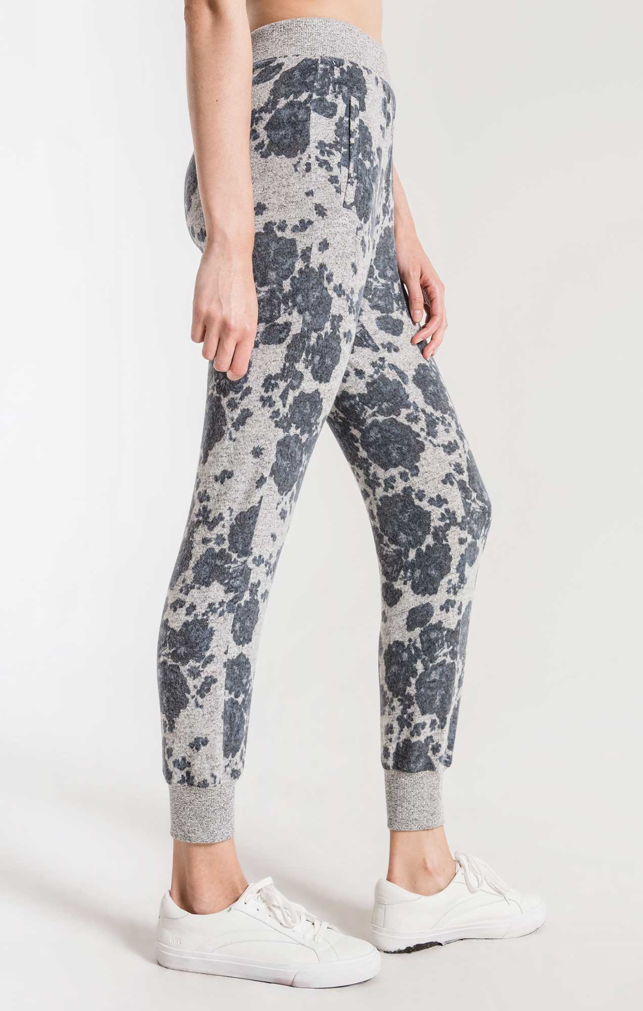 Pants The Marled Floral Jogger Pant Heather Grey