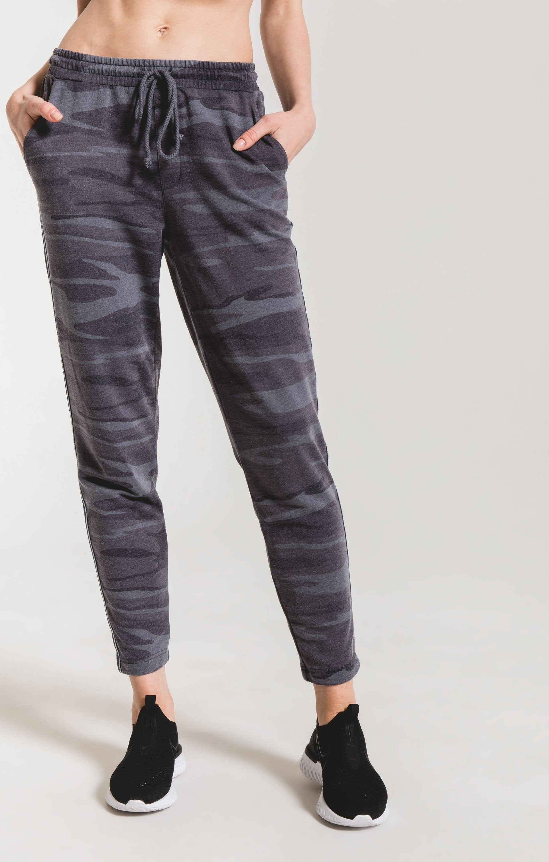 Pants Camo Sporty Jogger Pant Camo Dark Blue