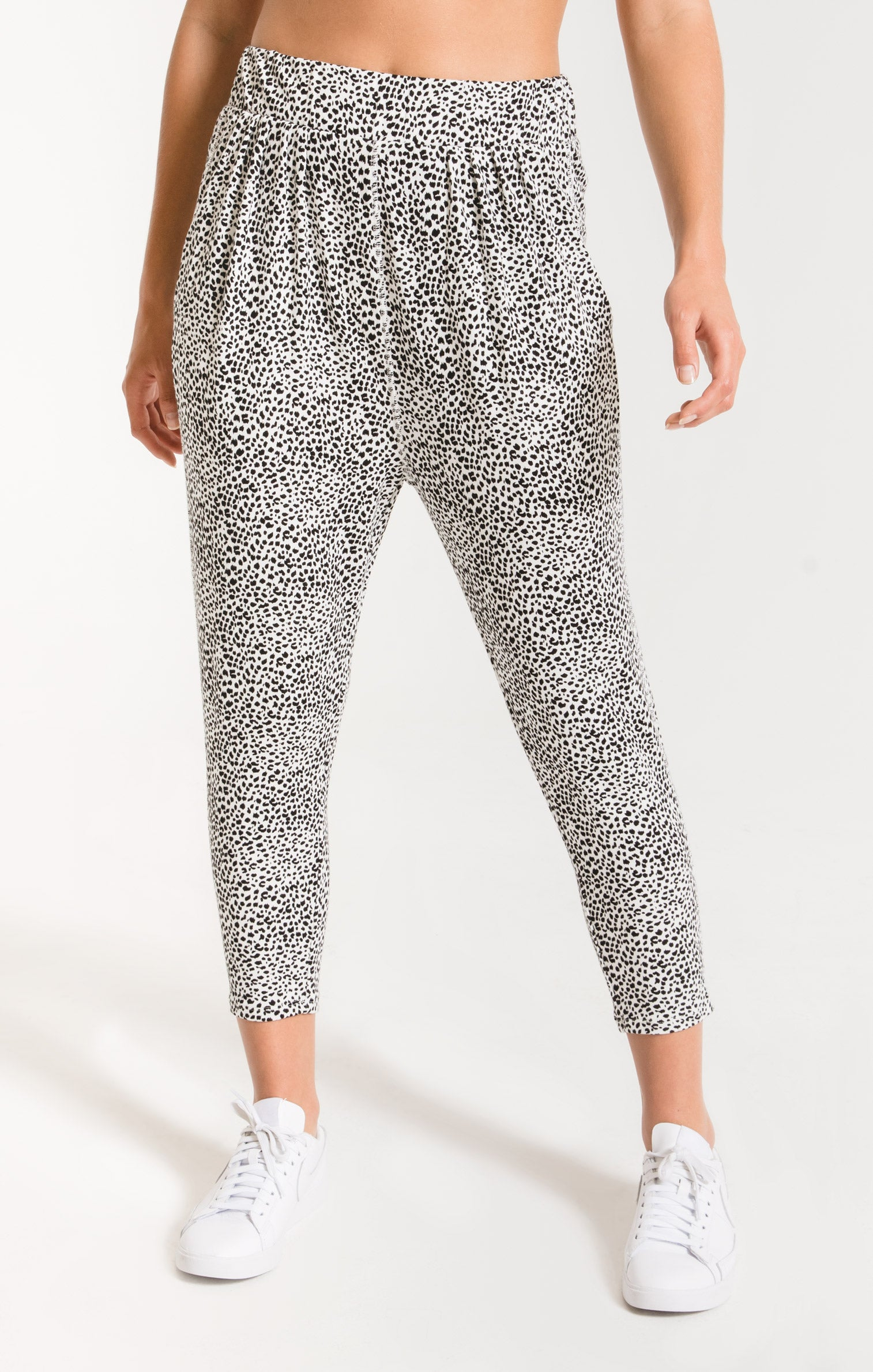 Pants Mini Leopard Pant Off White