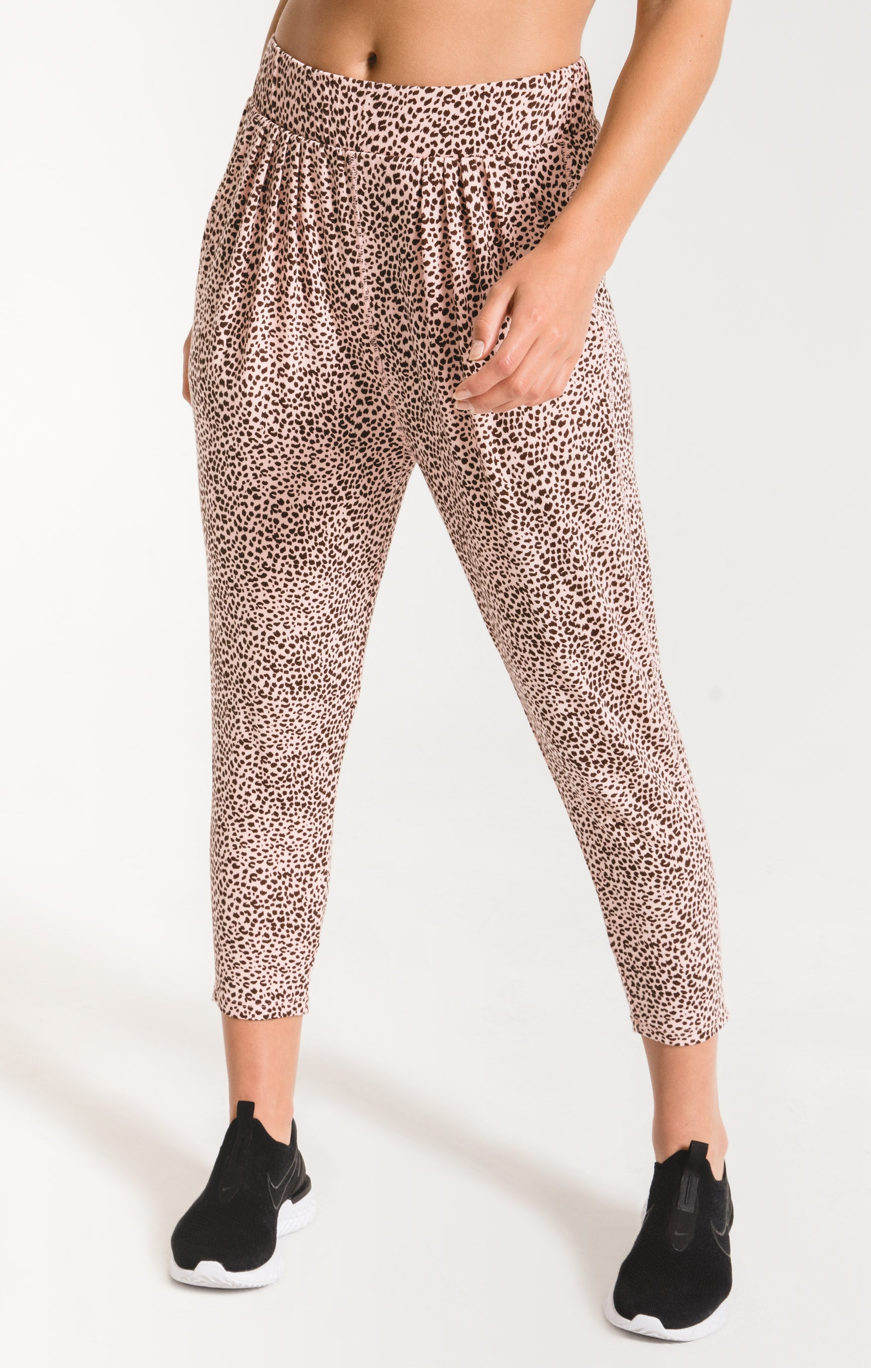 Pants Mini Leopard Pant Pale Blush
