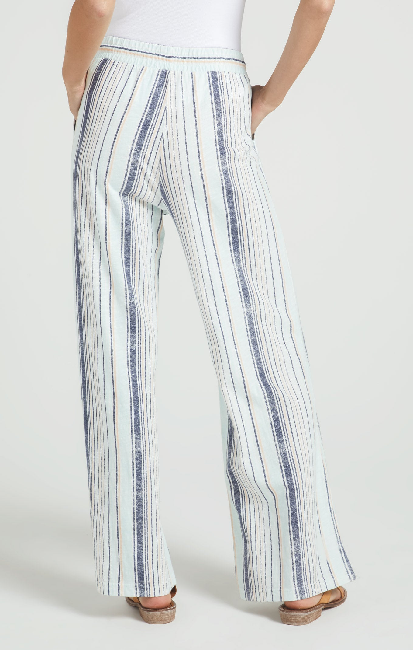 Pants Hana Stripe Pant Aqua Reef