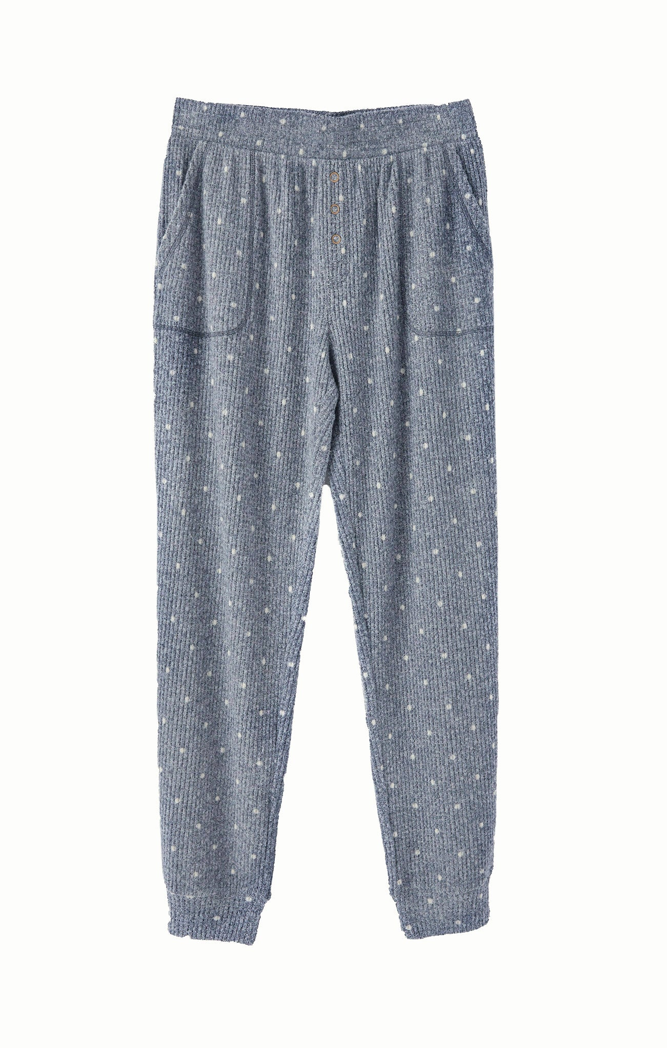 Pants Cozy Dot Jogger Steel