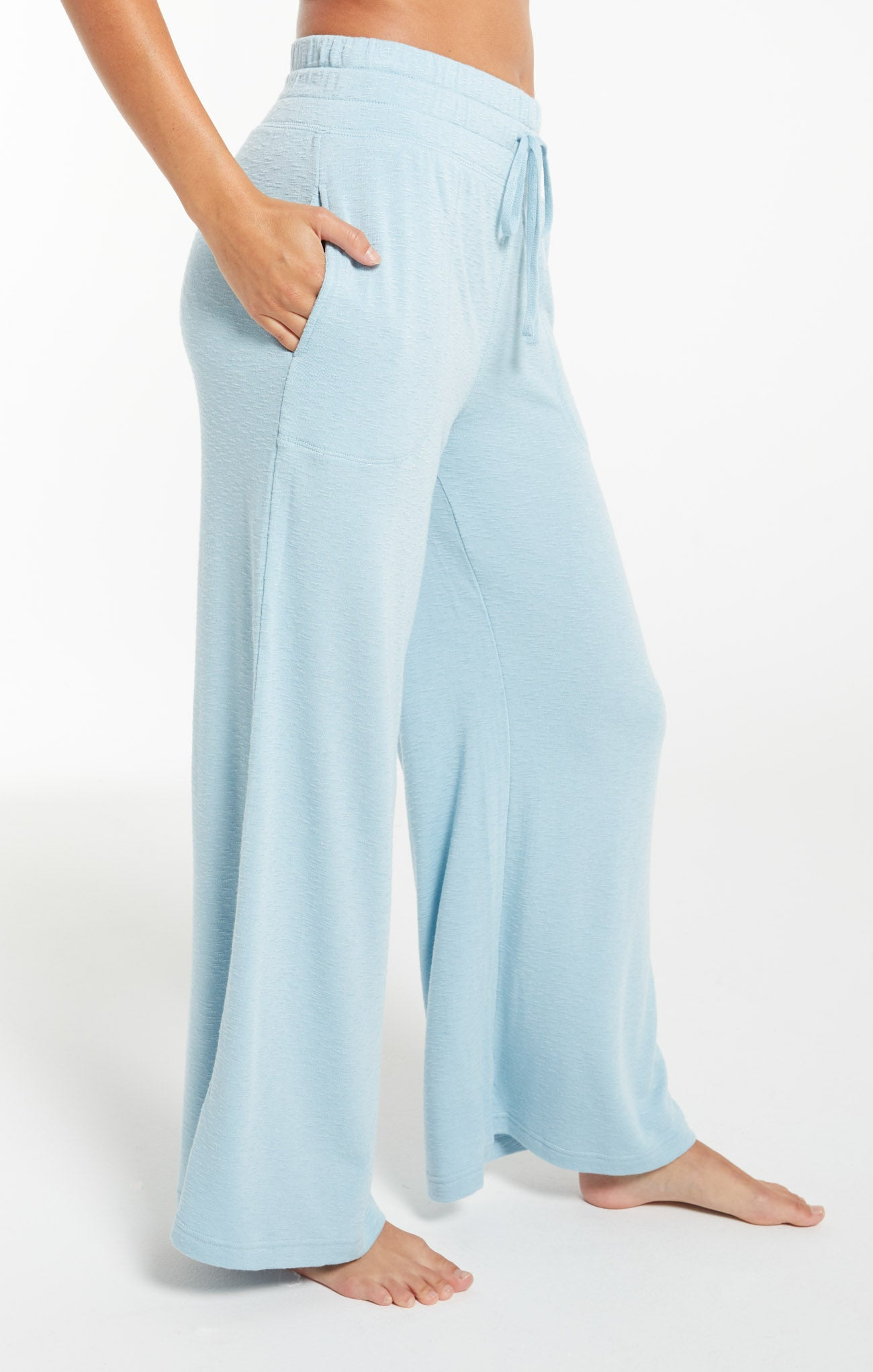 Pants Kim Terry Slub Pant Blue Agave