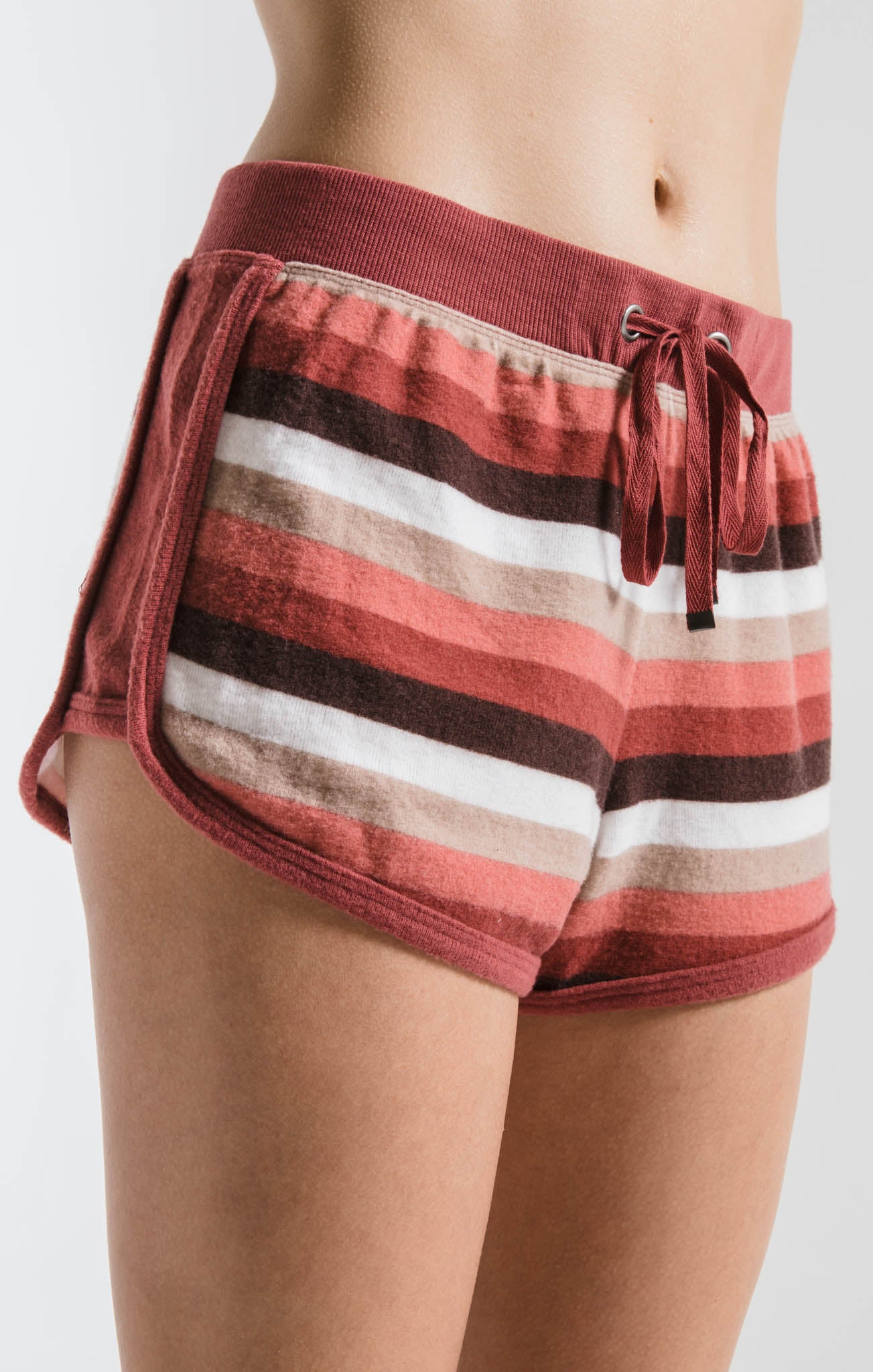 Shorts The Rainbow Stripe Short Mesa Red